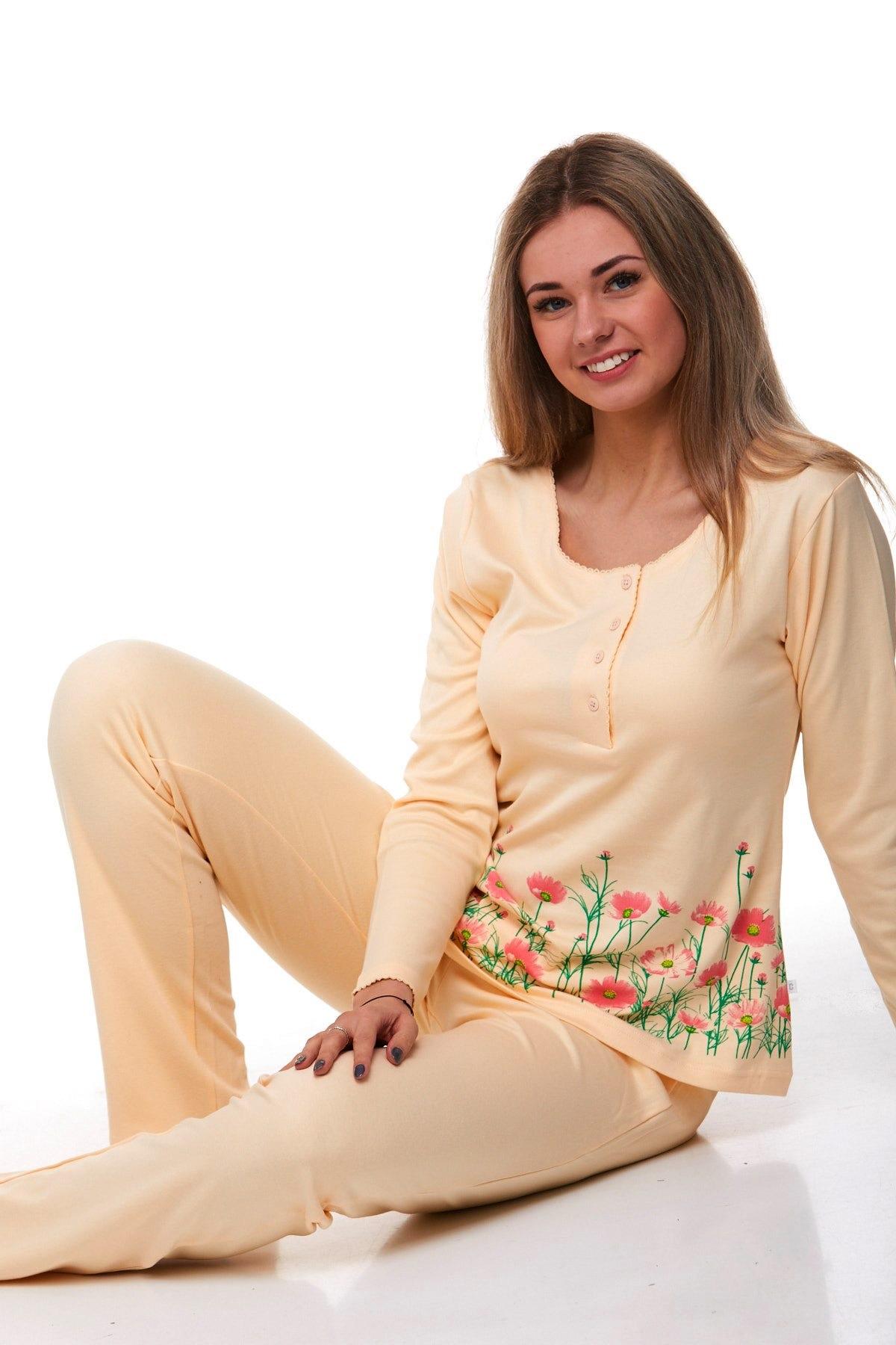 Luxusní pyžamo na kojení 1B0837