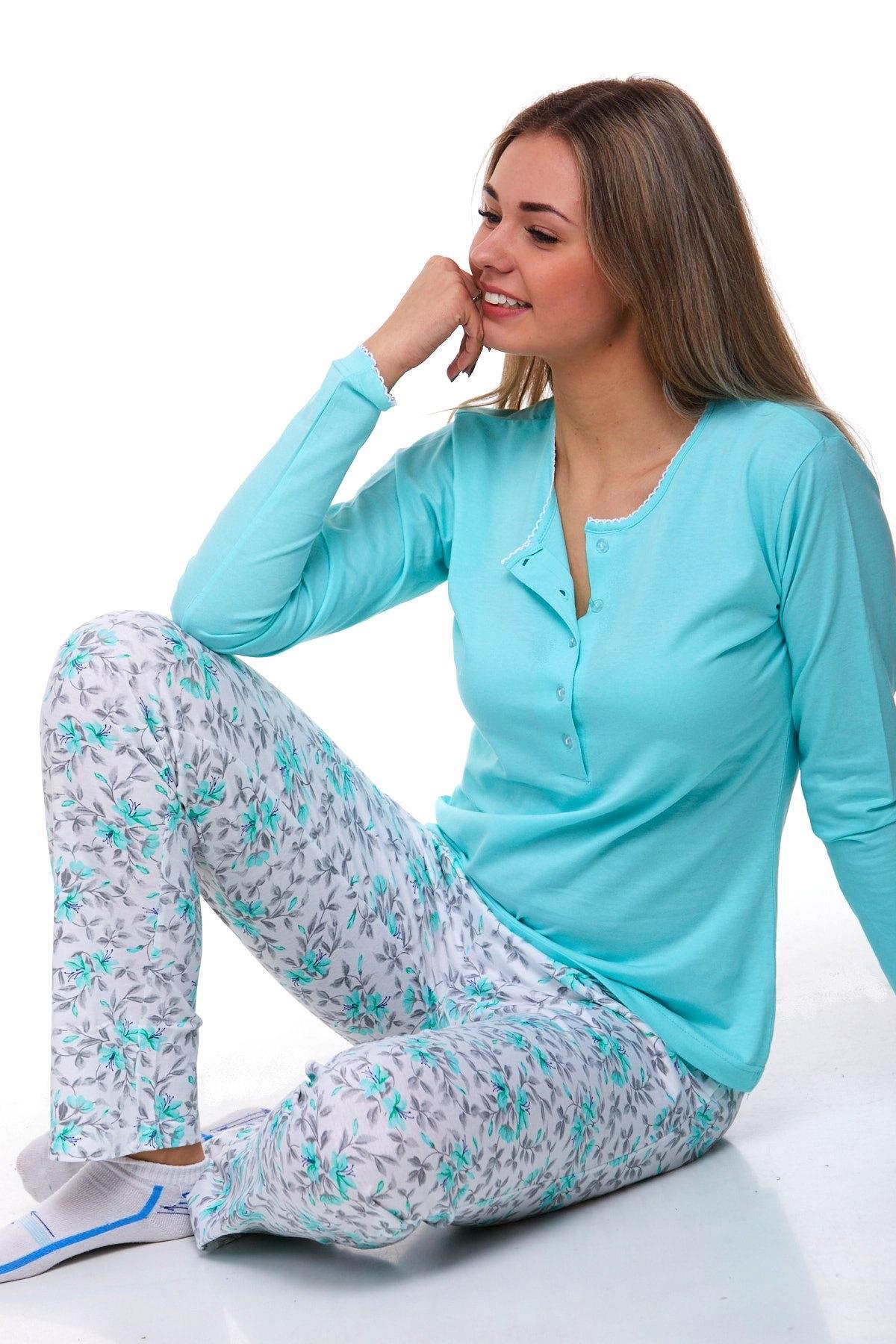 Luxusní pyžamo na kojení 1B0836