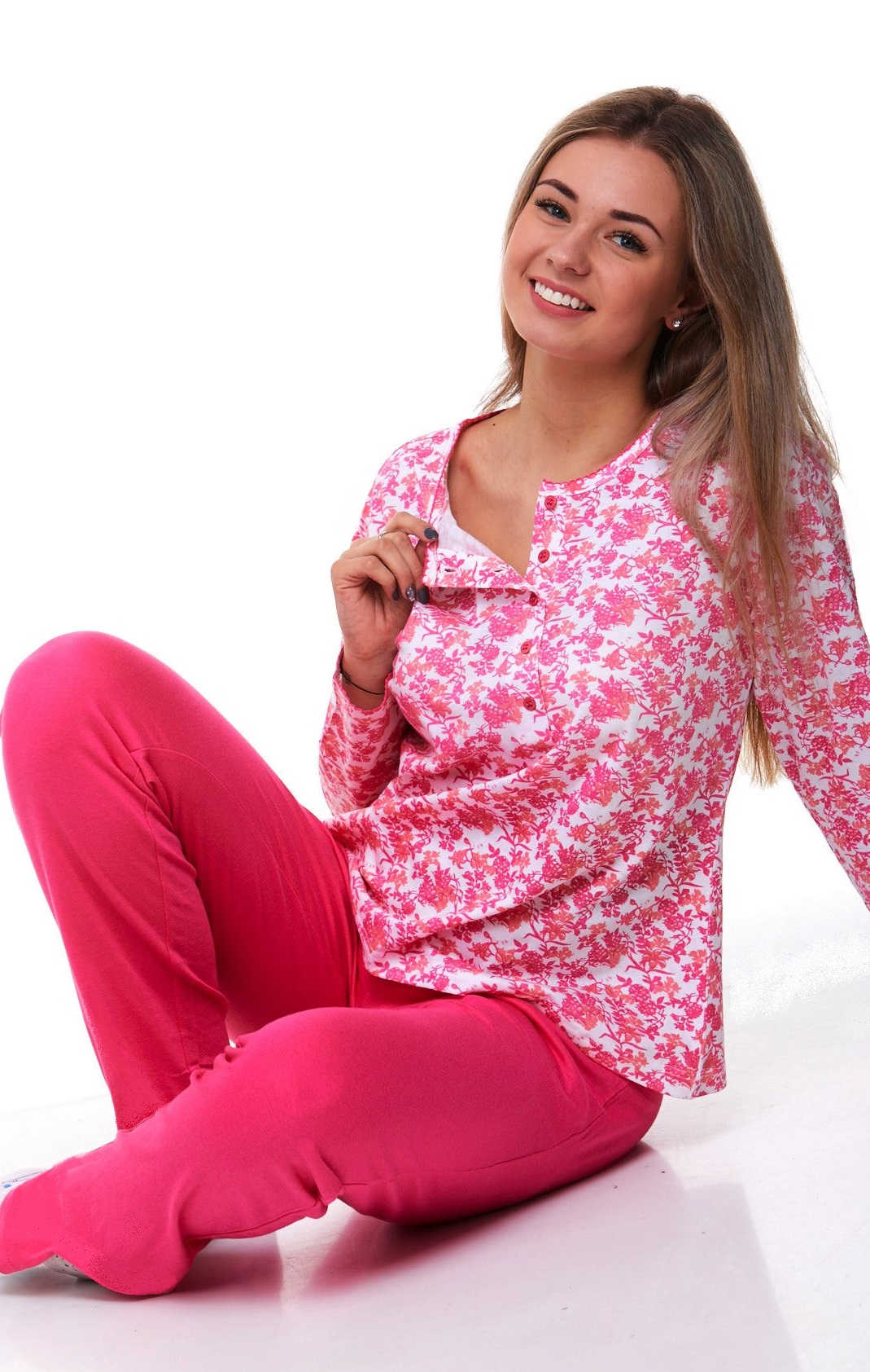 Luxusní pyžamo na kojení 1B0832