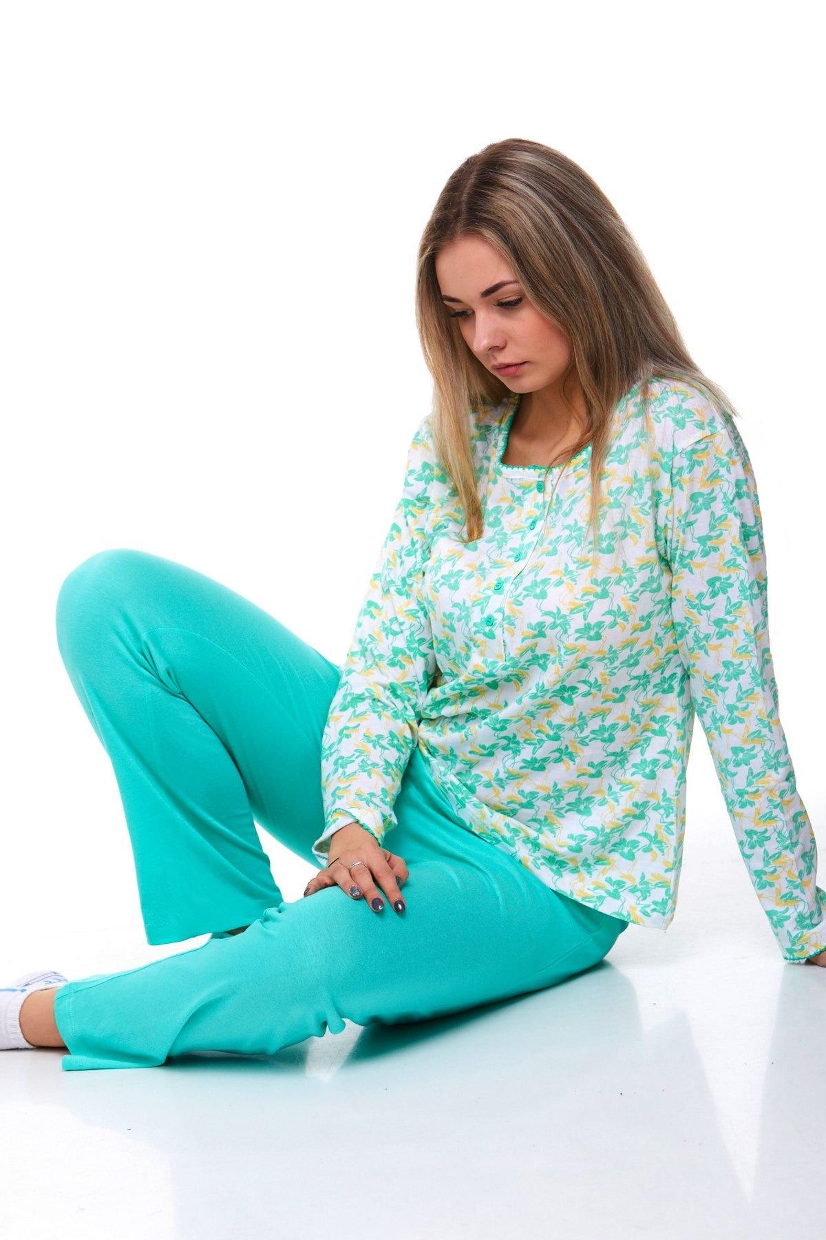 Luxusní pyžamo na kojení 1B0831