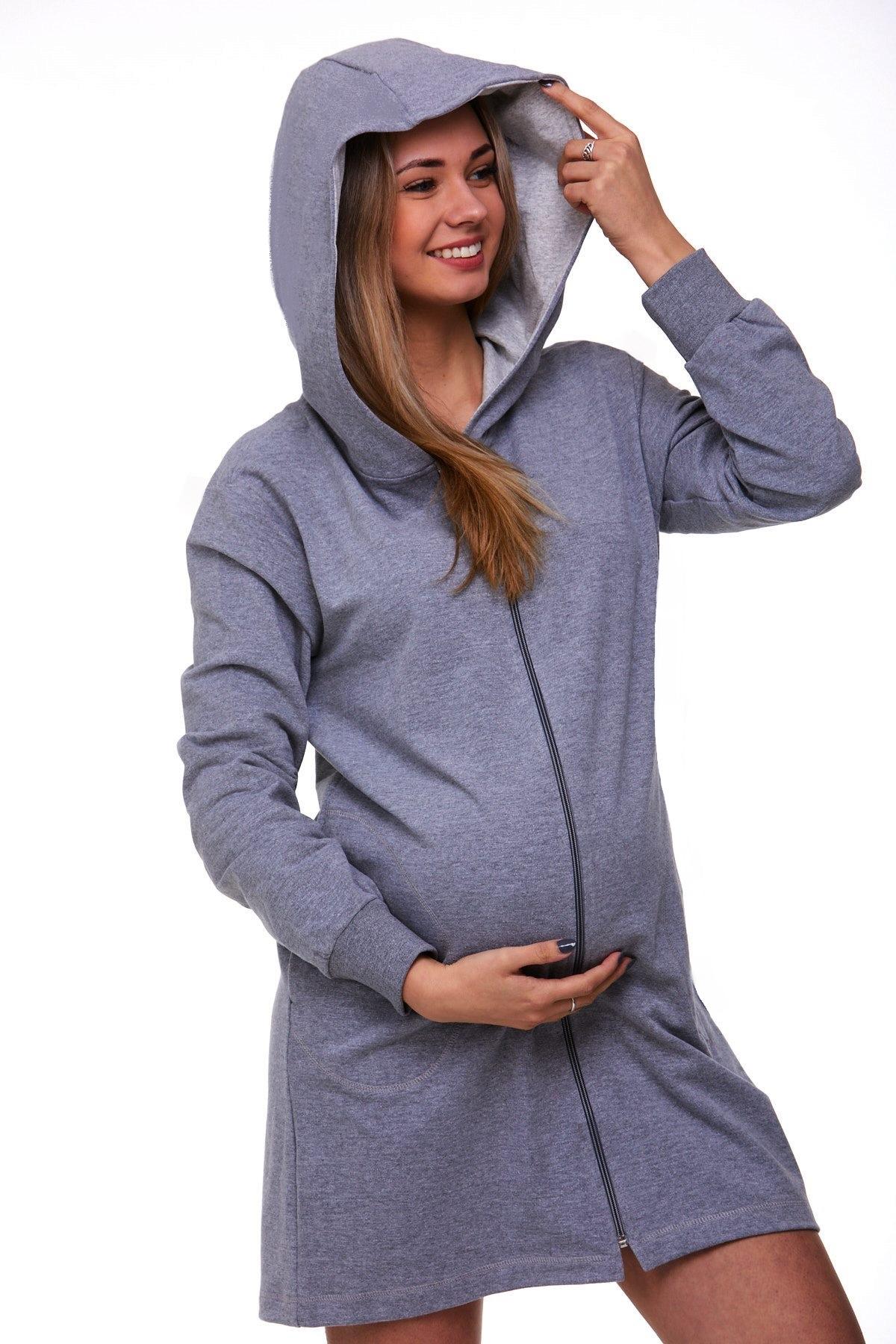 Těhotenský župan na kojení 1G0228