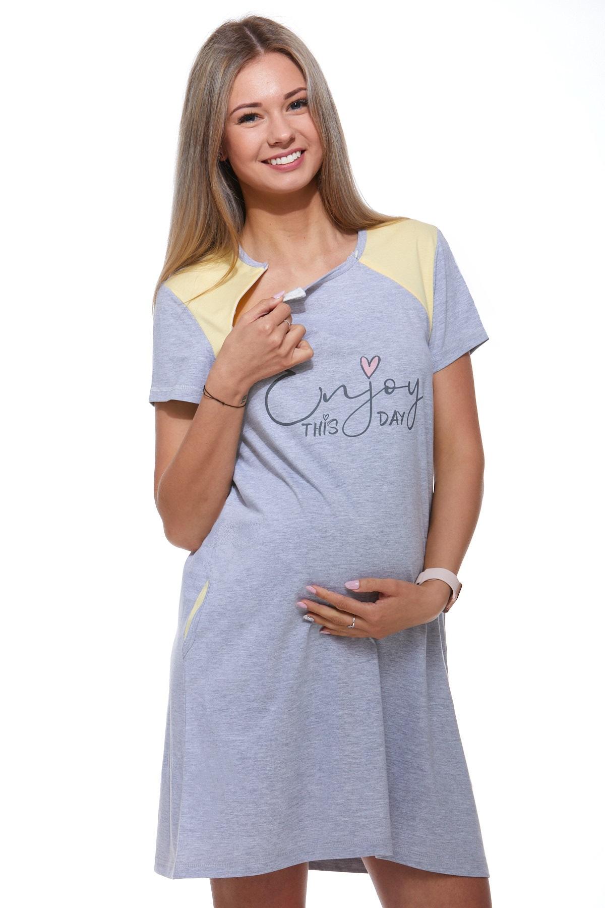 Kojící a těhotenská košilka 1C1982