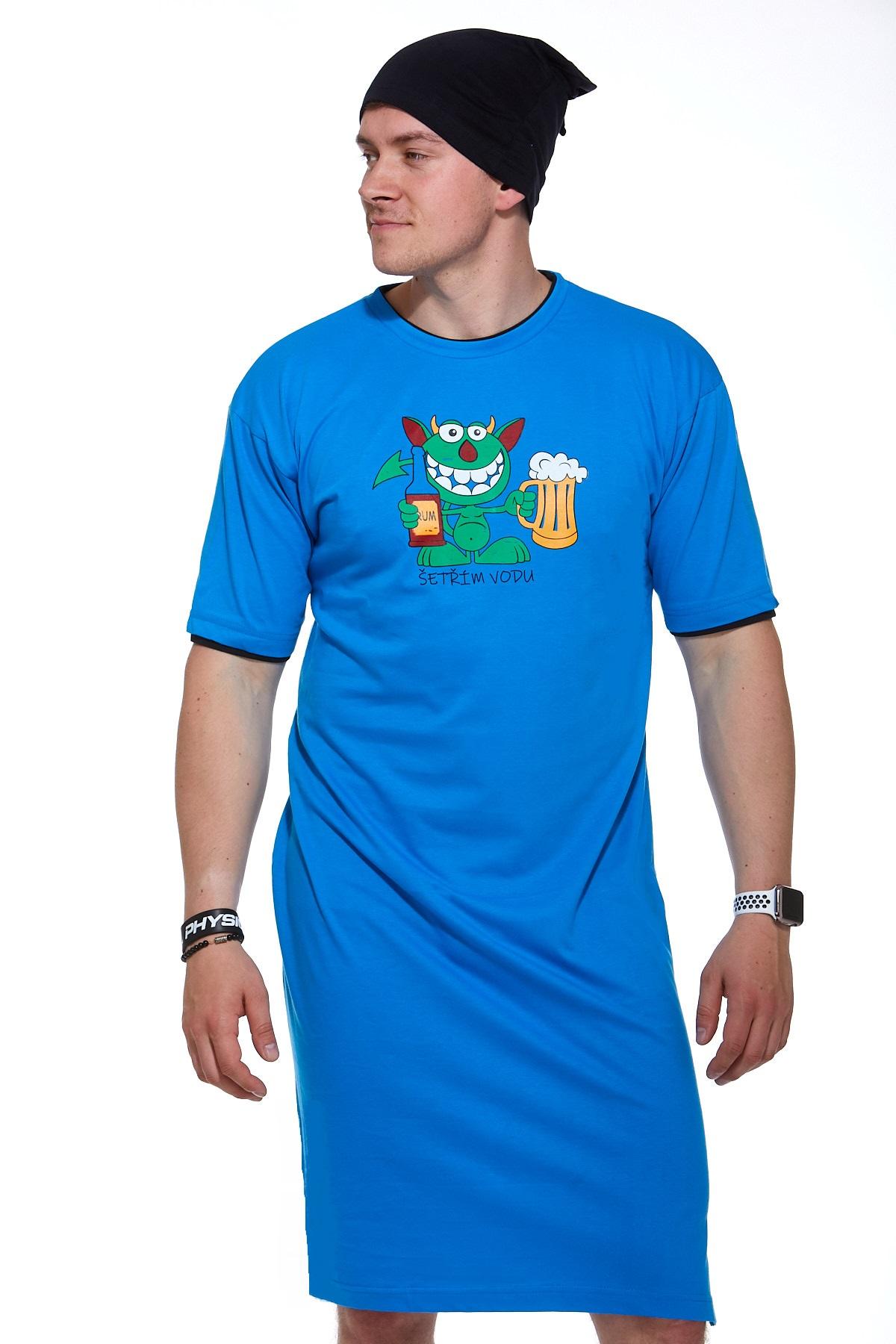 Pánské noční košile s čepičkou 1P0835