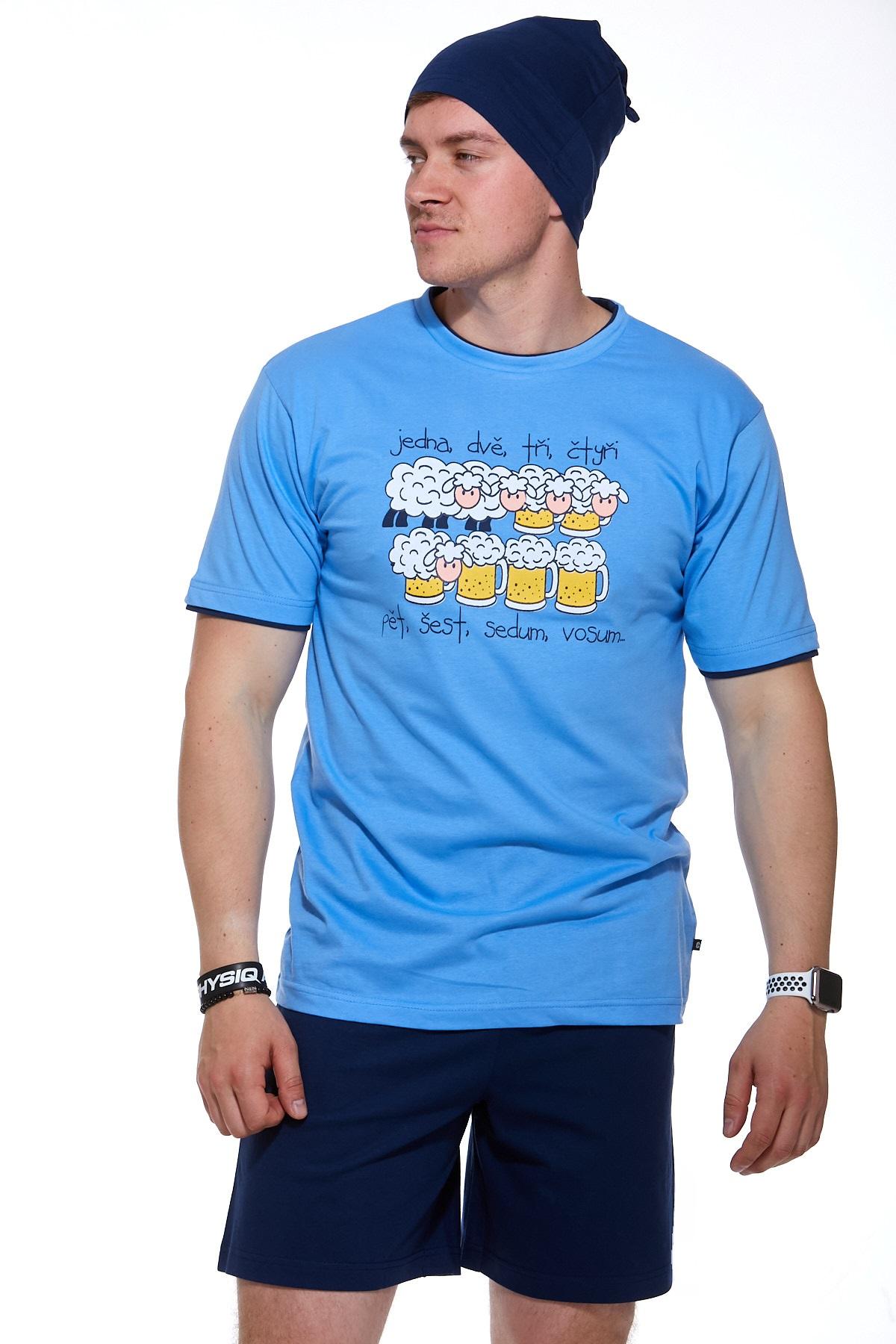Pyžamo pro muže s čepičkou 1P0833