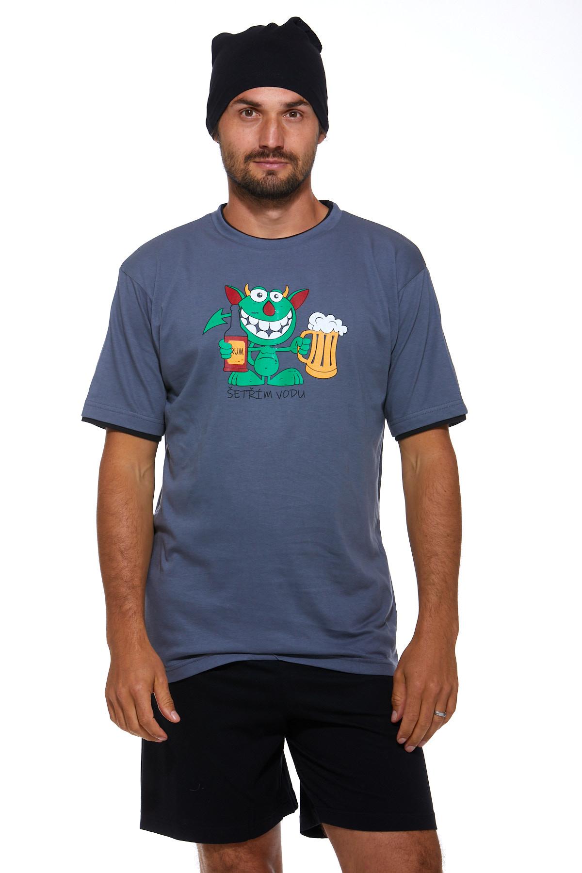 Pyžamo pro muže s čepičkou 1P0827