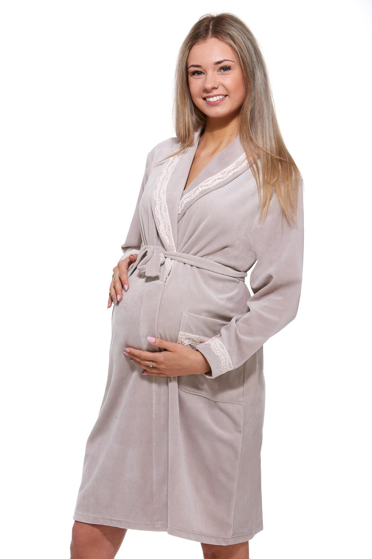 Župan do porodnice luxusní 1W0374