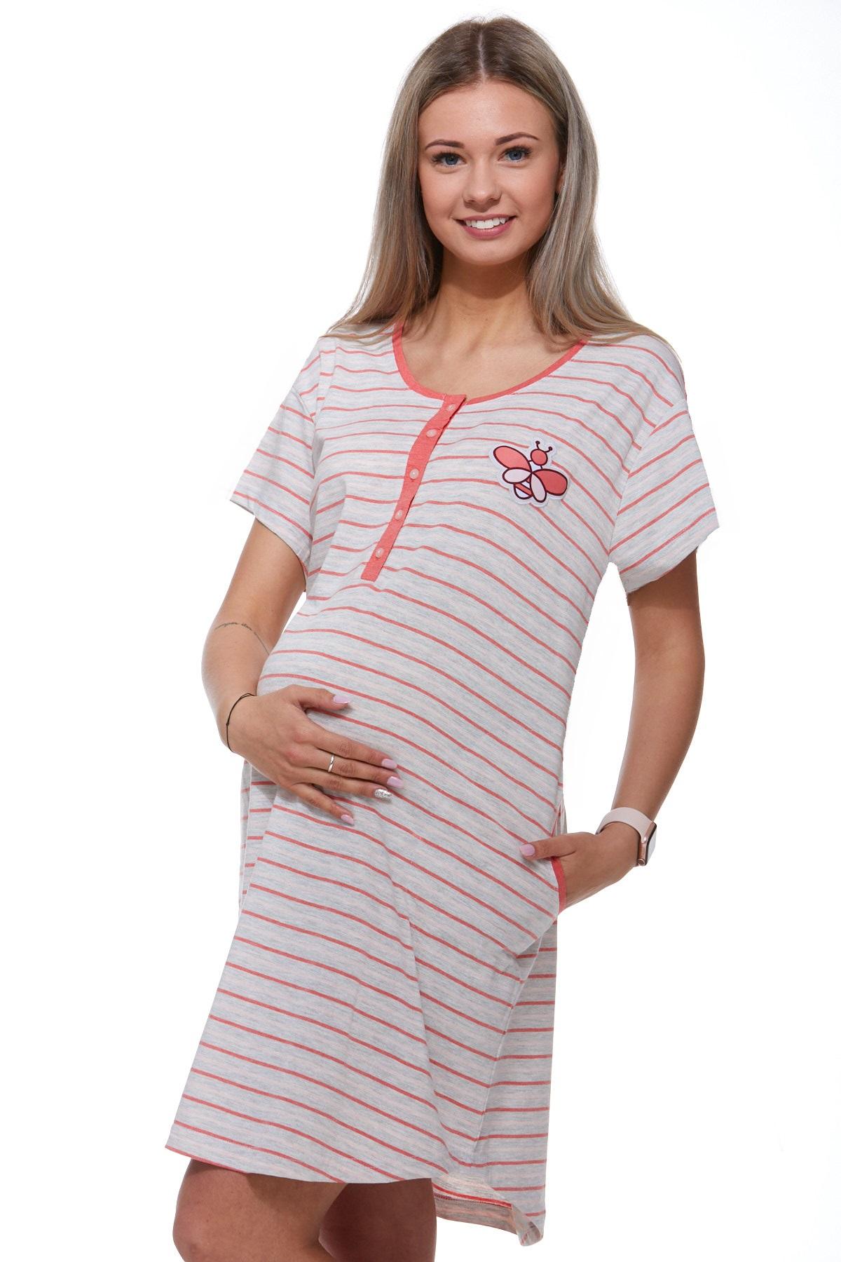 Kojící a těhotenská košilka 1C2017