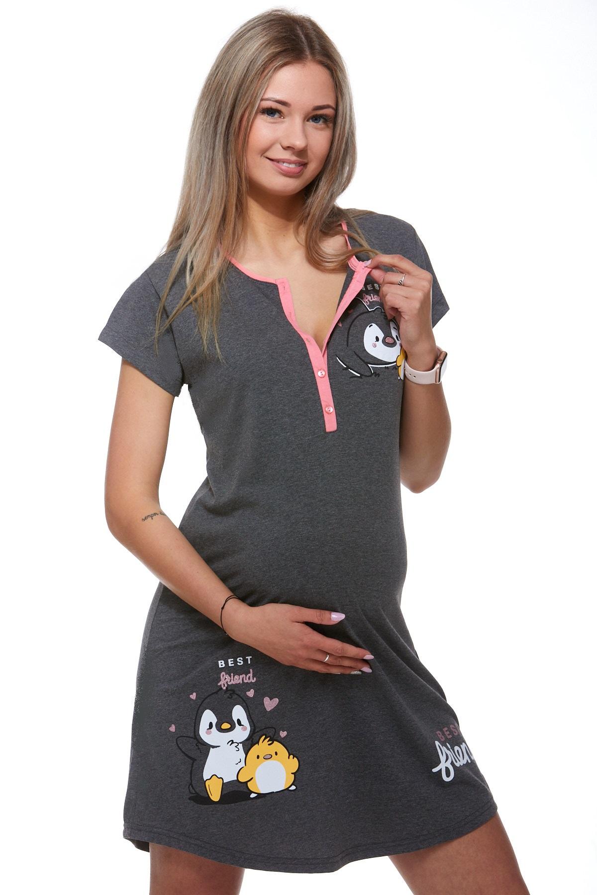 Kojící a těhotenská košilka 1C2014