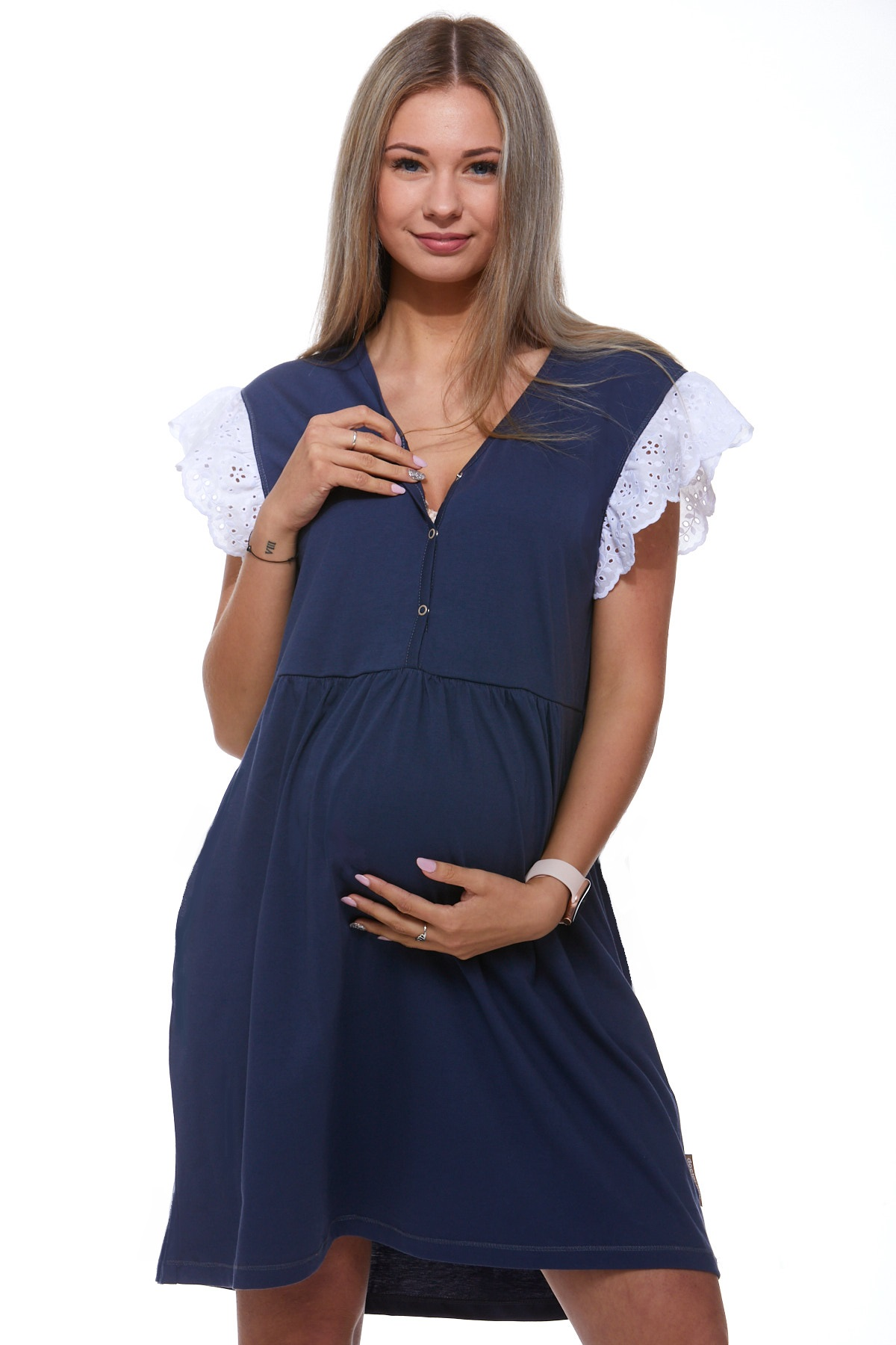 Košilka kojící do porodnice luxusní 1C8247