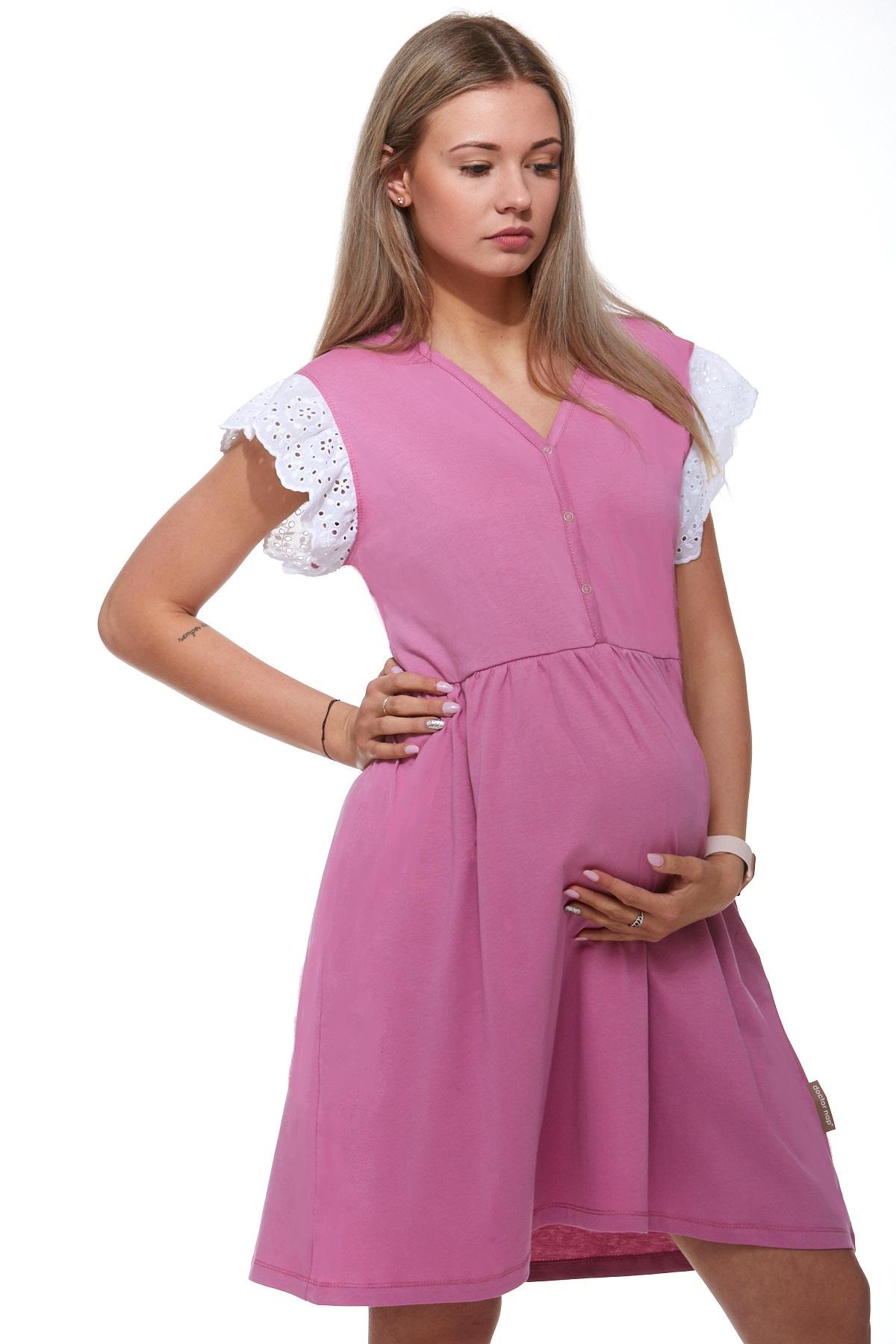 Košilka kojící do porodnice luxusní 1C8246