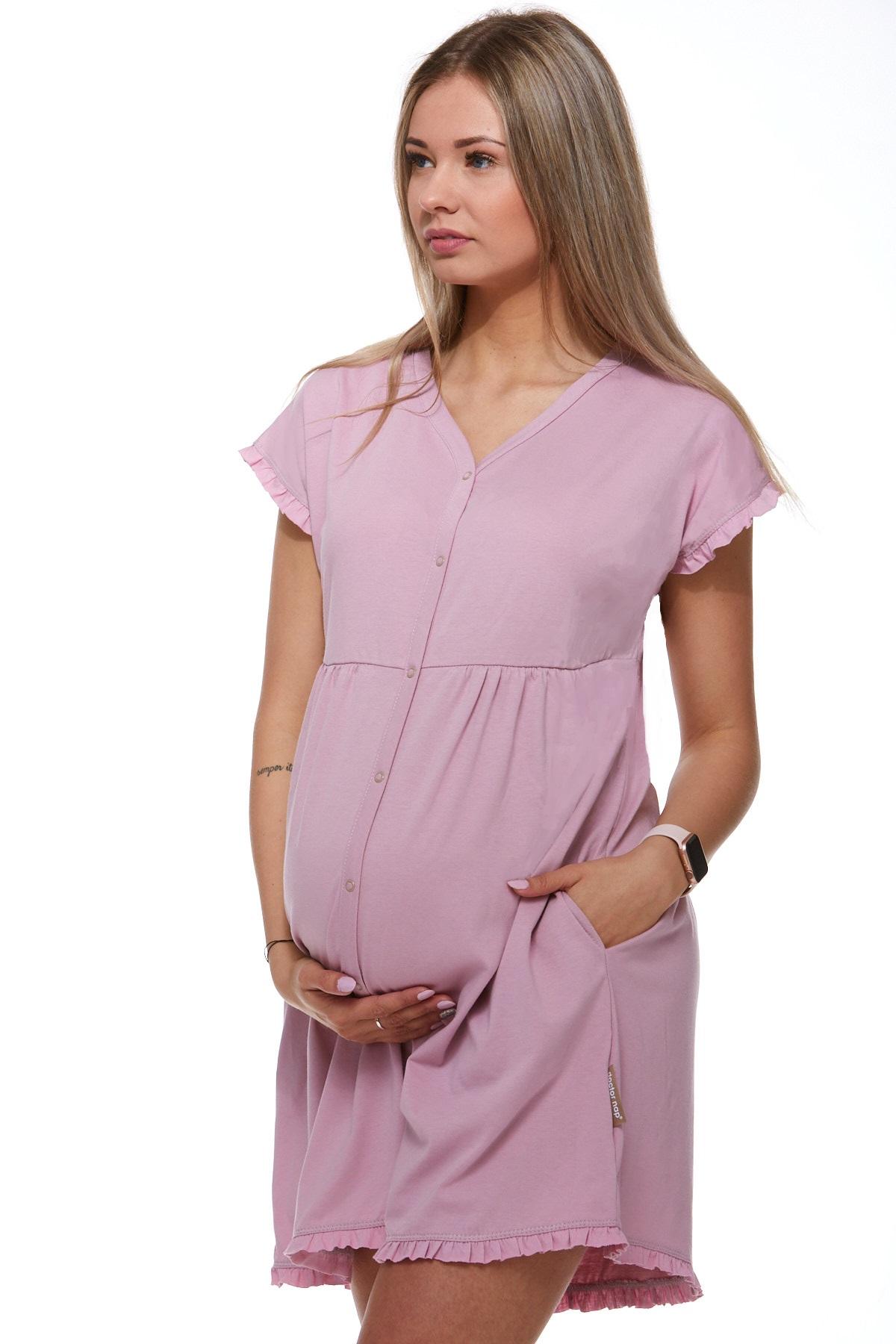 Košilka kojící do porodnice luxusní 1C8243