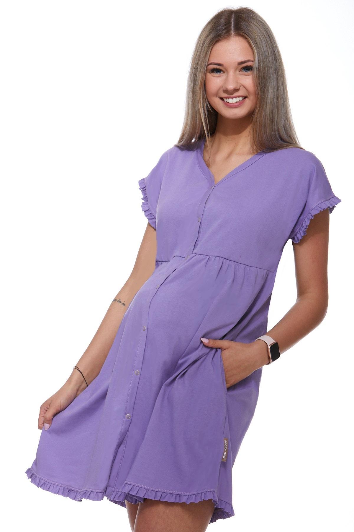 Košilka kojící do porodnice luxusní 1C8241