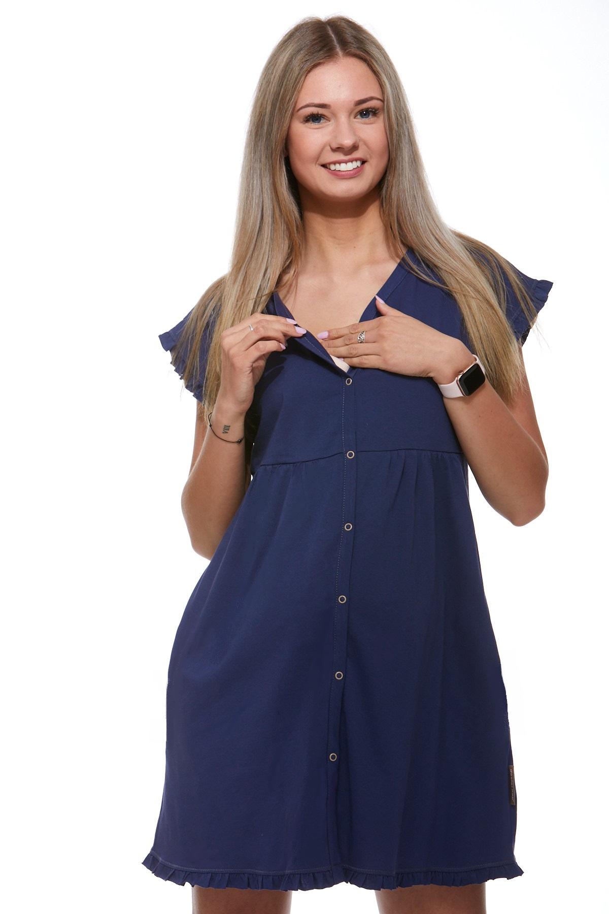 Košilka kojící do porodnice luxusní 1C8240