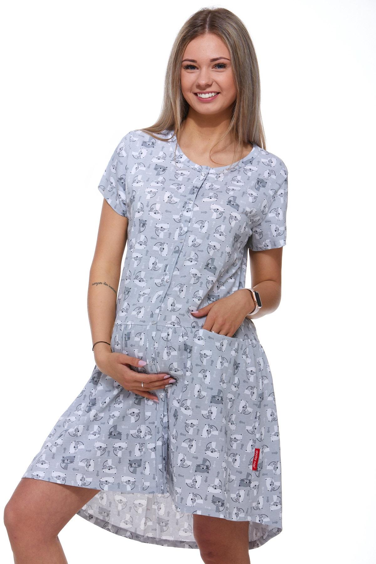 Košilka kojící i těhotenská do porodnice 1C2051