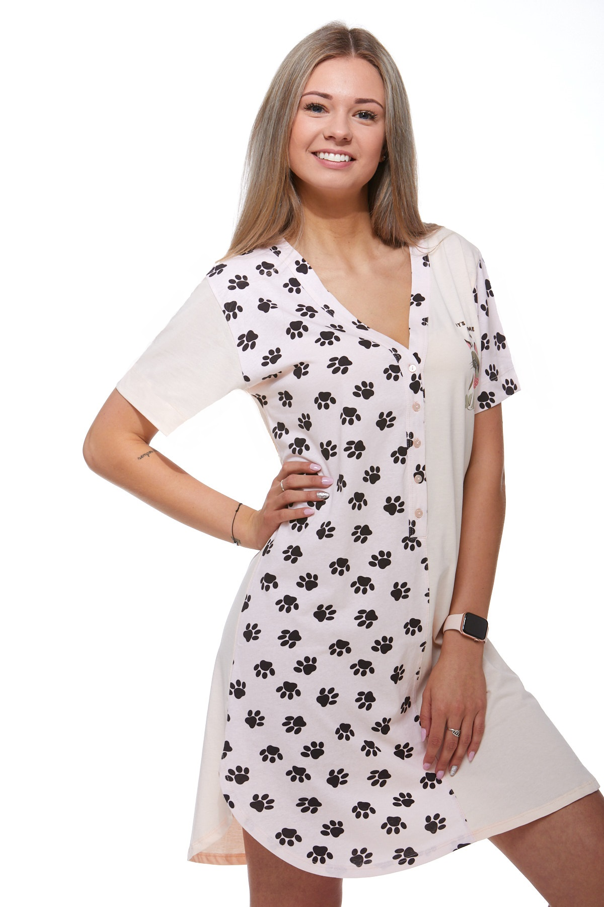 Noční košilka pro ženy 1C2011