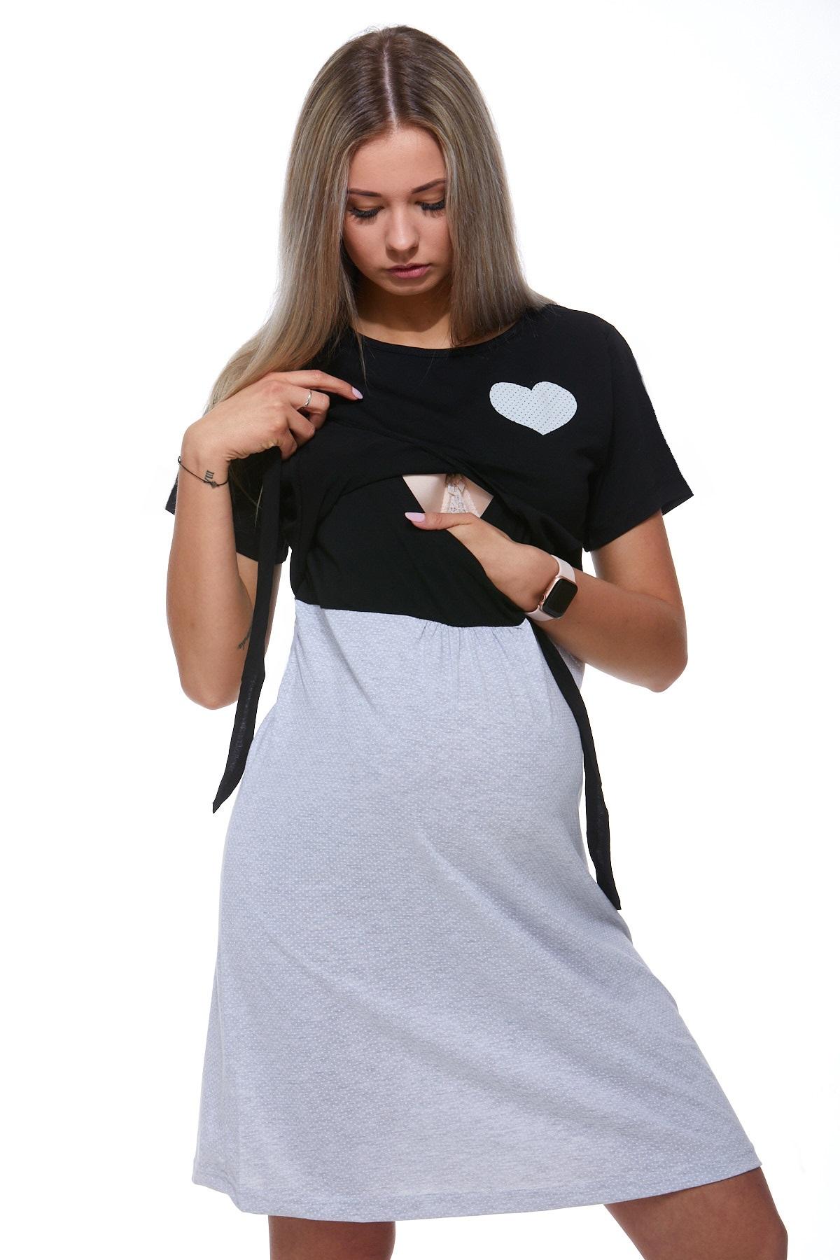 Diskrétní kojící košilka do porodnice 1C2012
