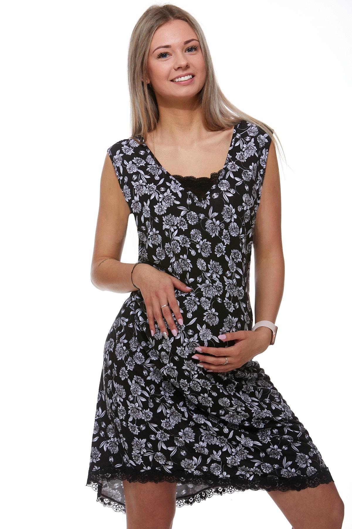 Mateřská luxusní jemná košilka 1D0728