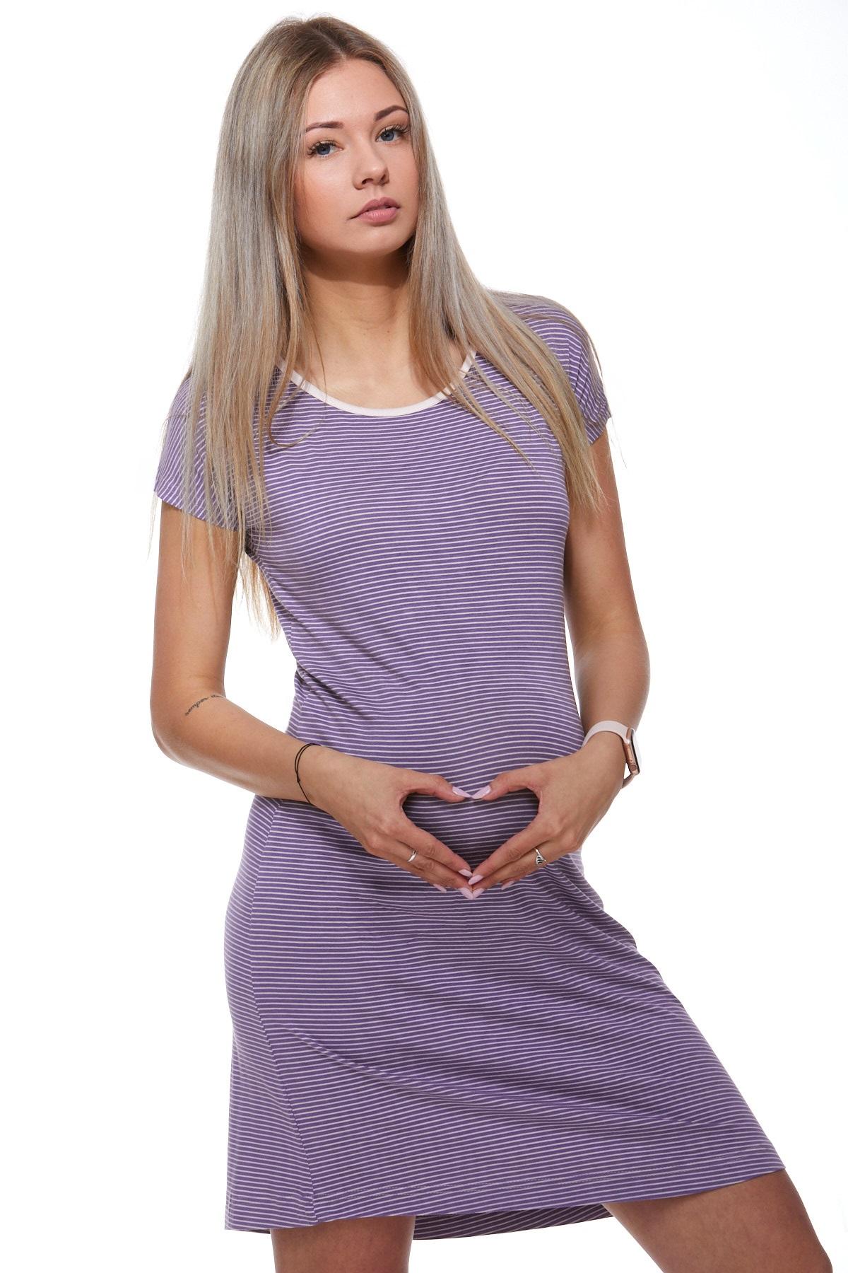Mateřská luxusní jemná košilka 1D0741