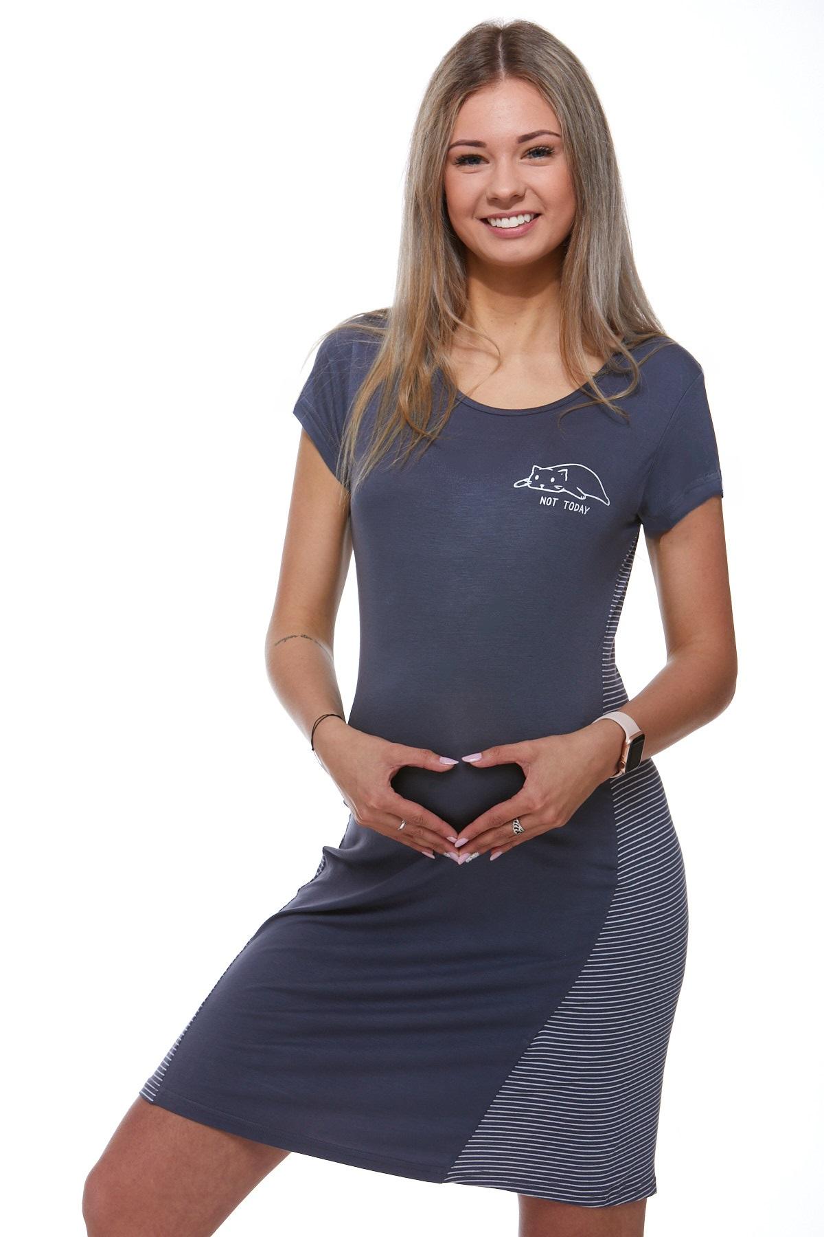 Mateřská luxusní jemná košilka 1D0740