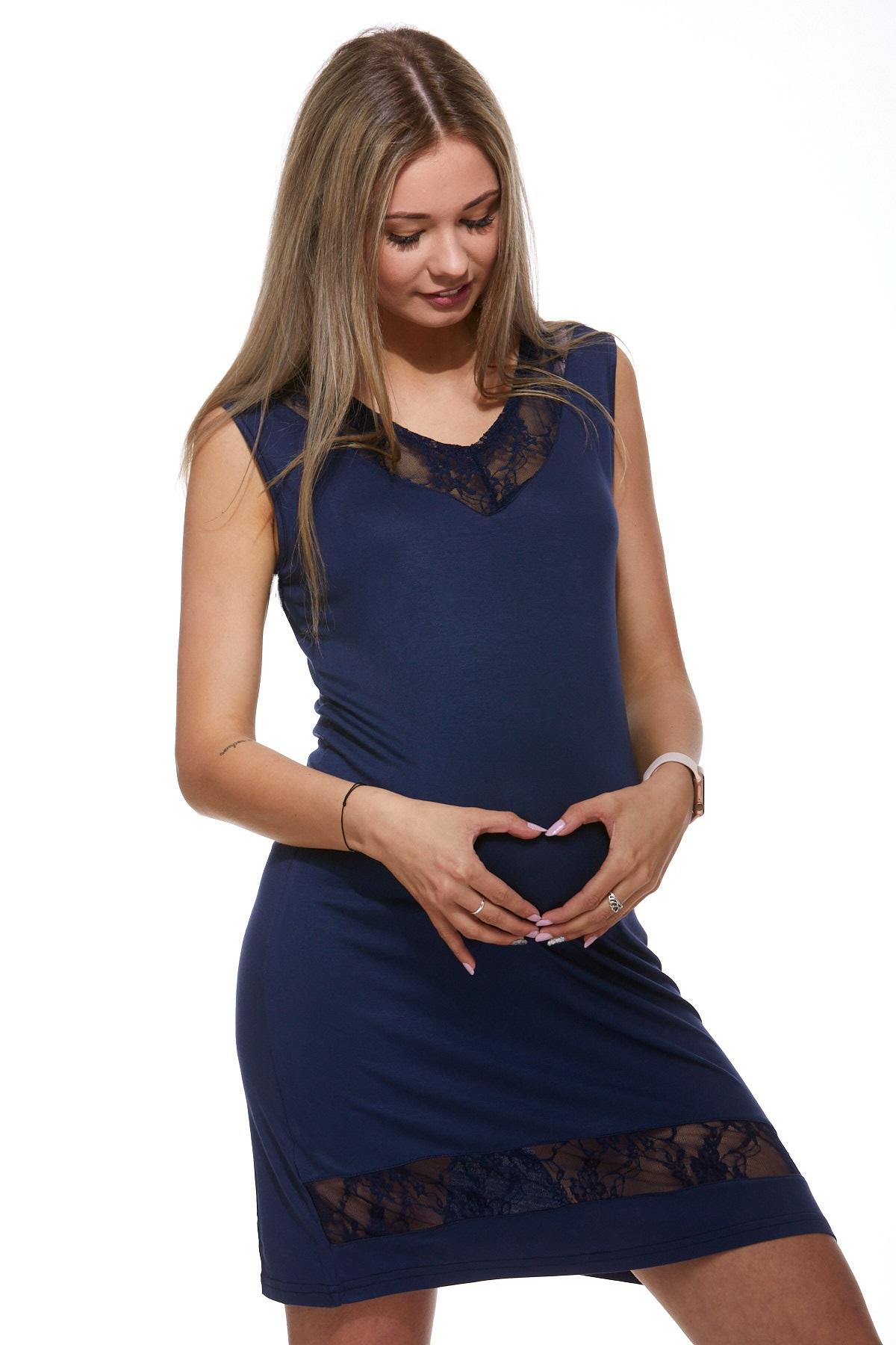 Mateřská luxusní jemná košilka 1D0737