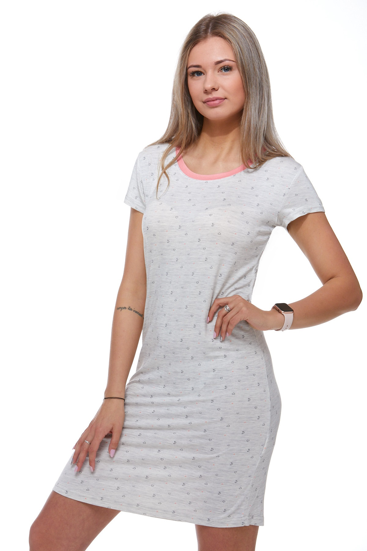 Jemná košilka pro ženu 1D0735