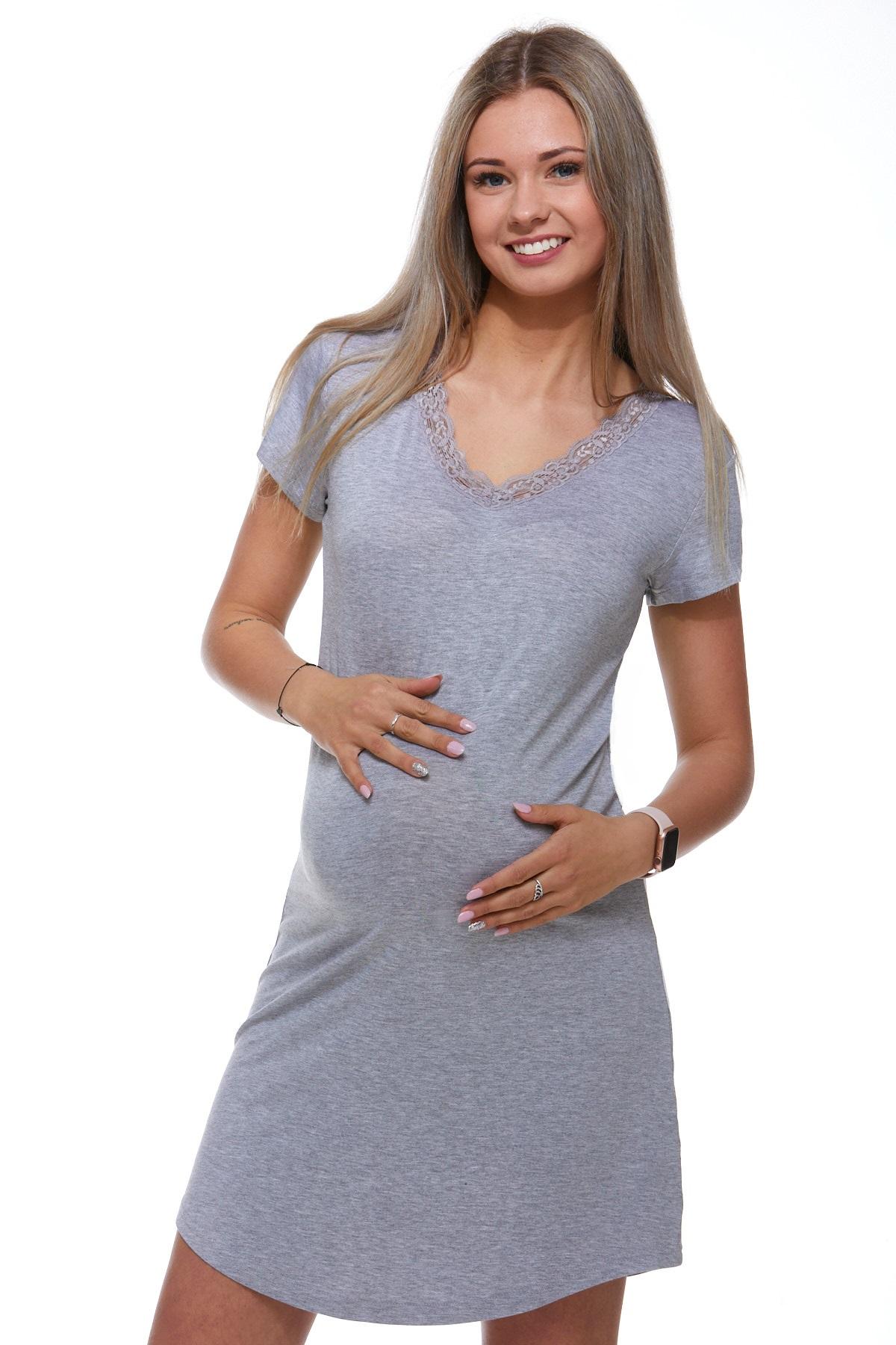 Mateřská luxusní jemná košilka 1D0730