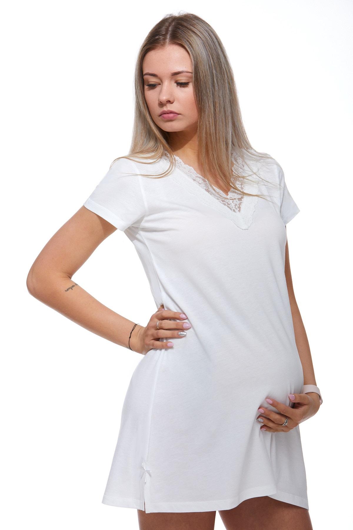 Mateřská luxusní jemná košilka 1C2054