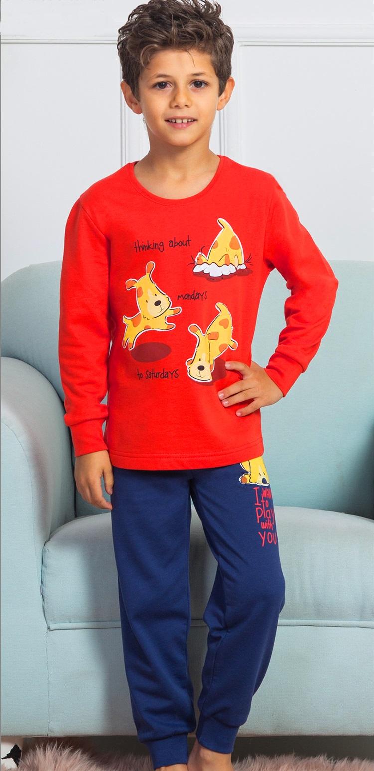 Chlapecké pyžamo teplé 1F0450