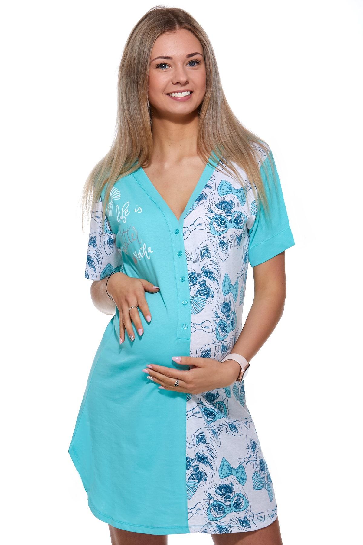 Kojící a těhotenská košilka 1C2075