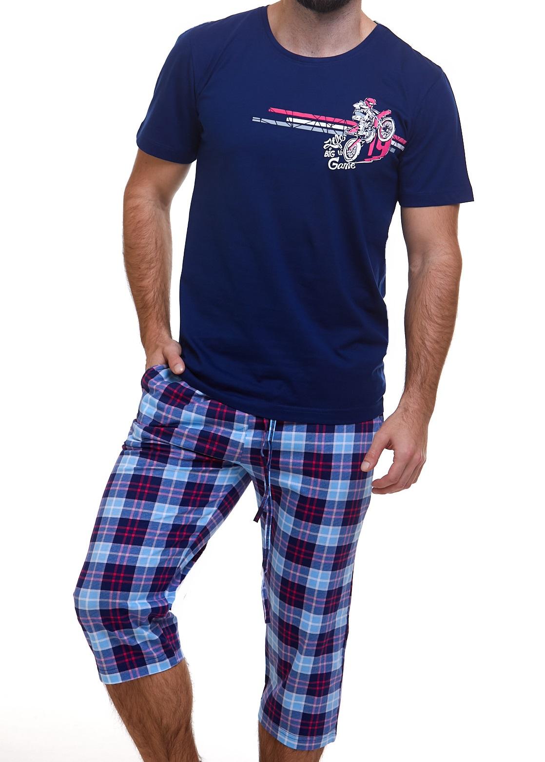 Pyžamo pro muže Motorka 1P0846