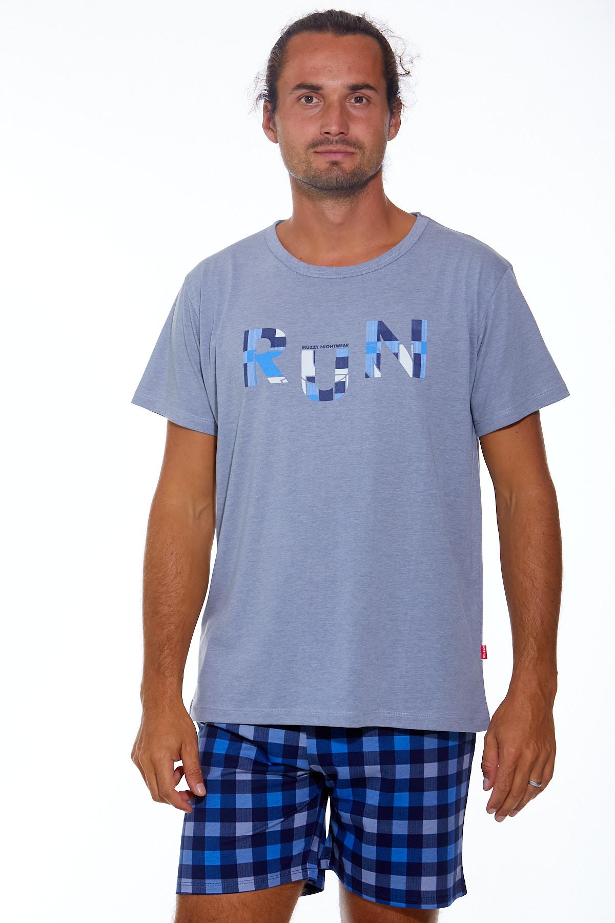 Pánské pyžamo  1P0873