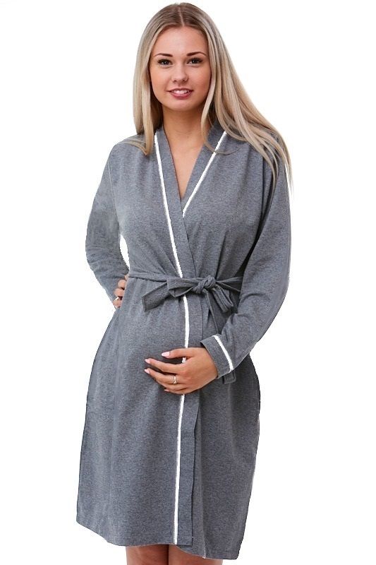 Mateřský župan do porodnice na kojení 1G0248
