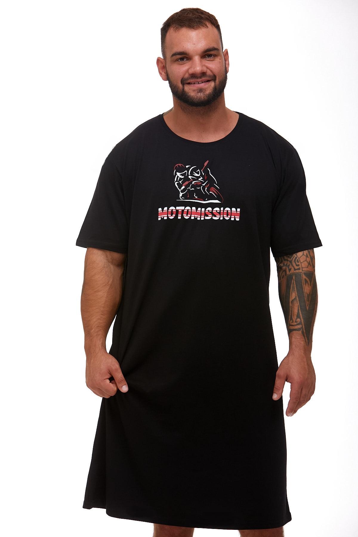 Pánské noční košile MOTORKA 1P0885