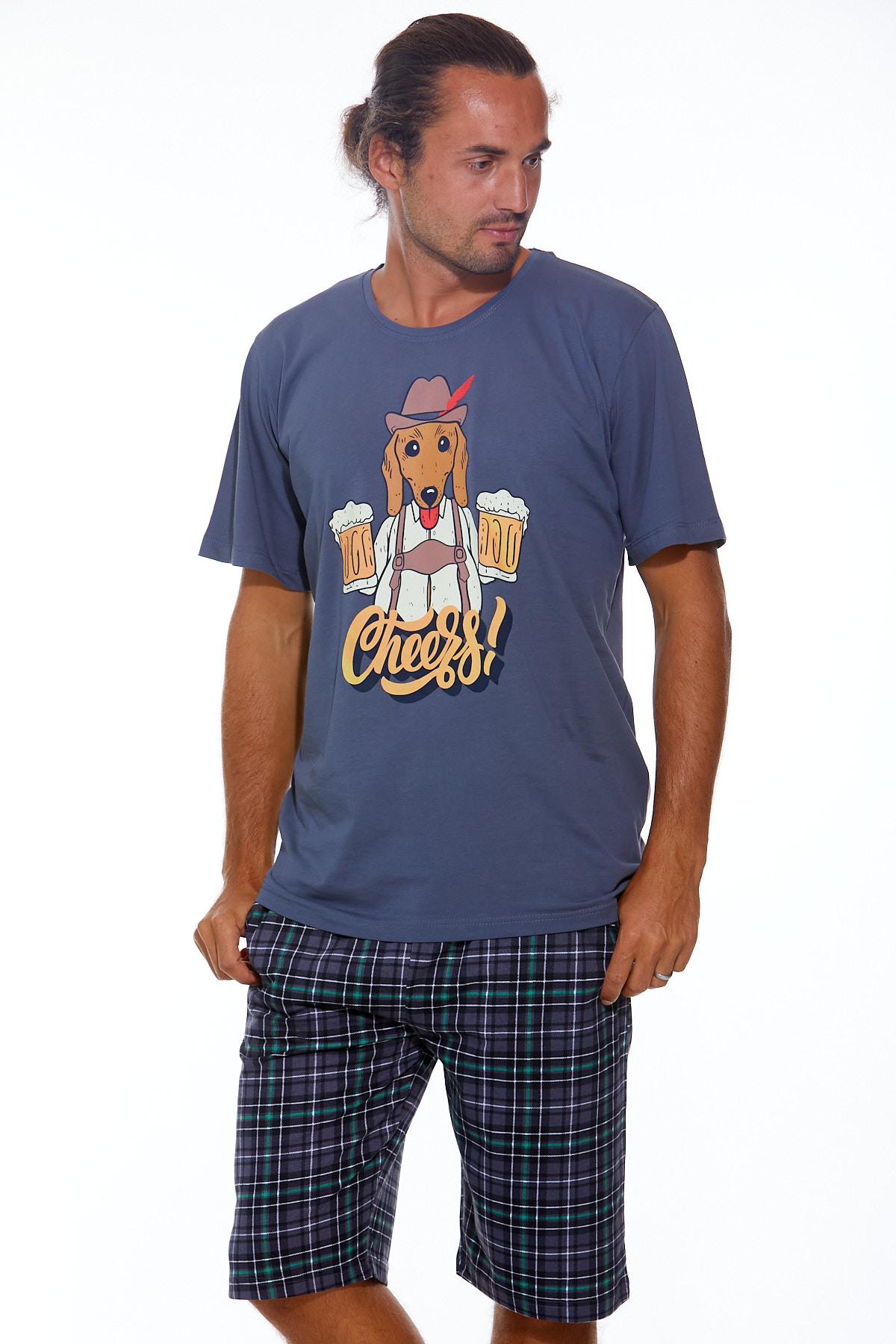 Pánské pyžamo  1P0888