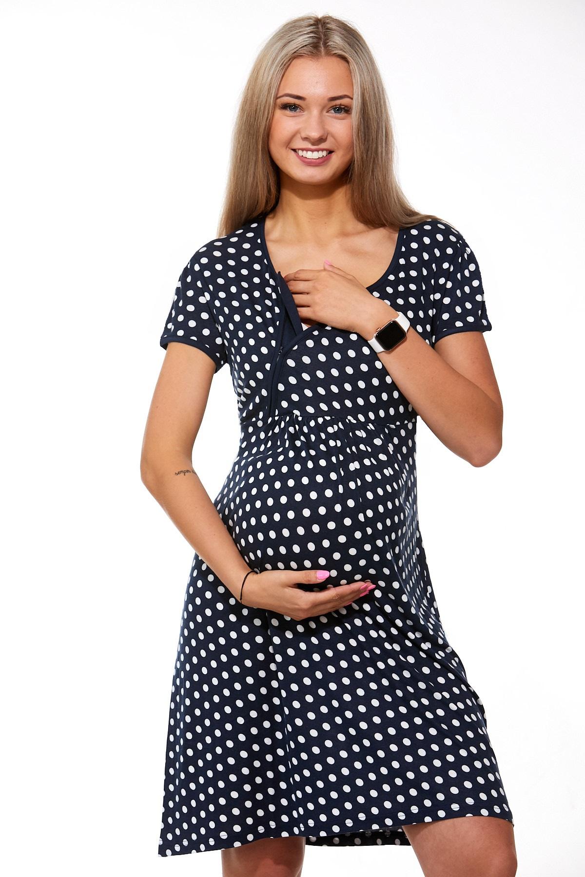 Košilka těhotenská a kojící do porodnice 1D0749