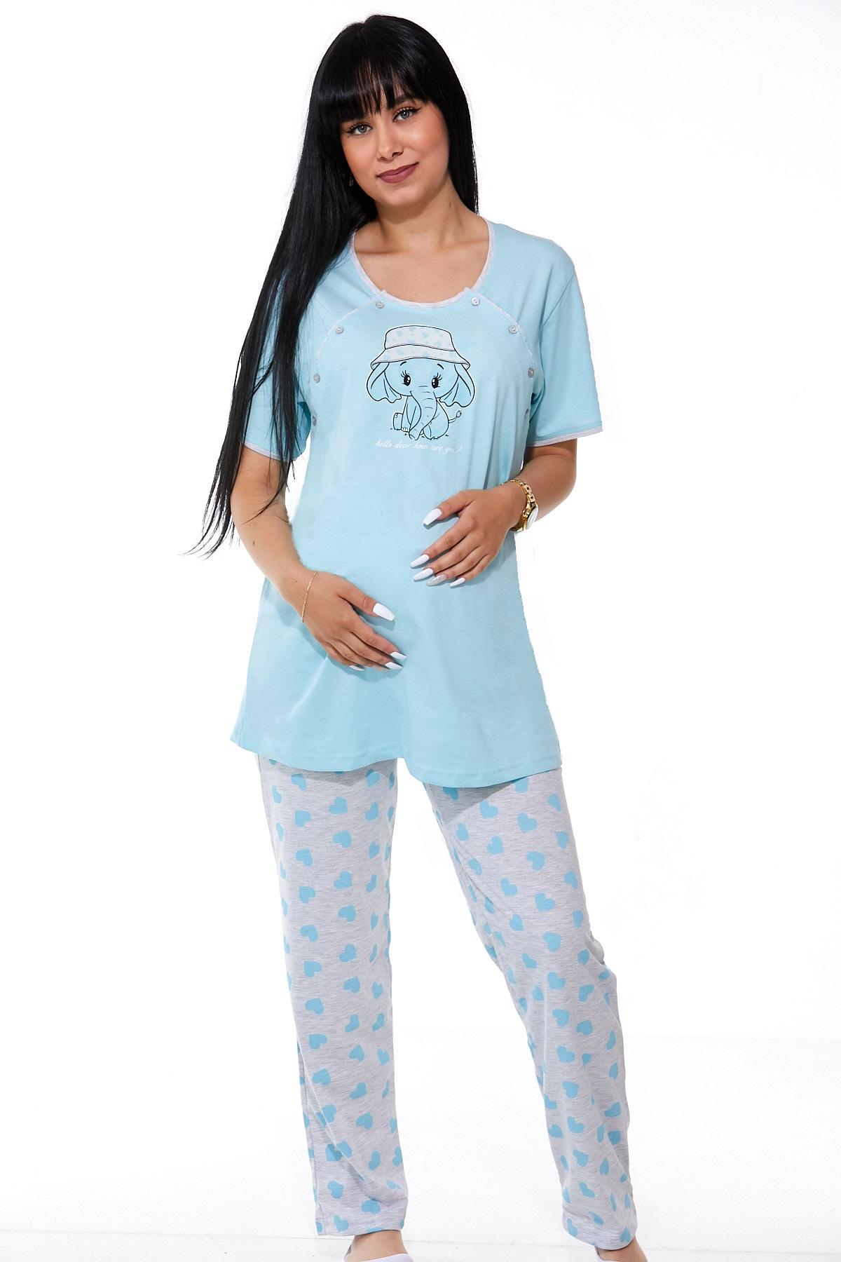 Pyžamo těhotenské a kojící 1B0880