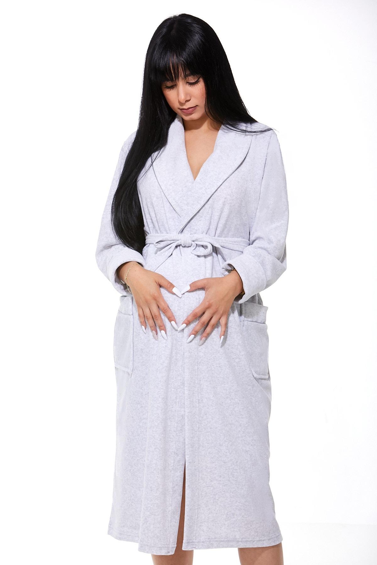 Župan do porodnice luxusní 1W0428