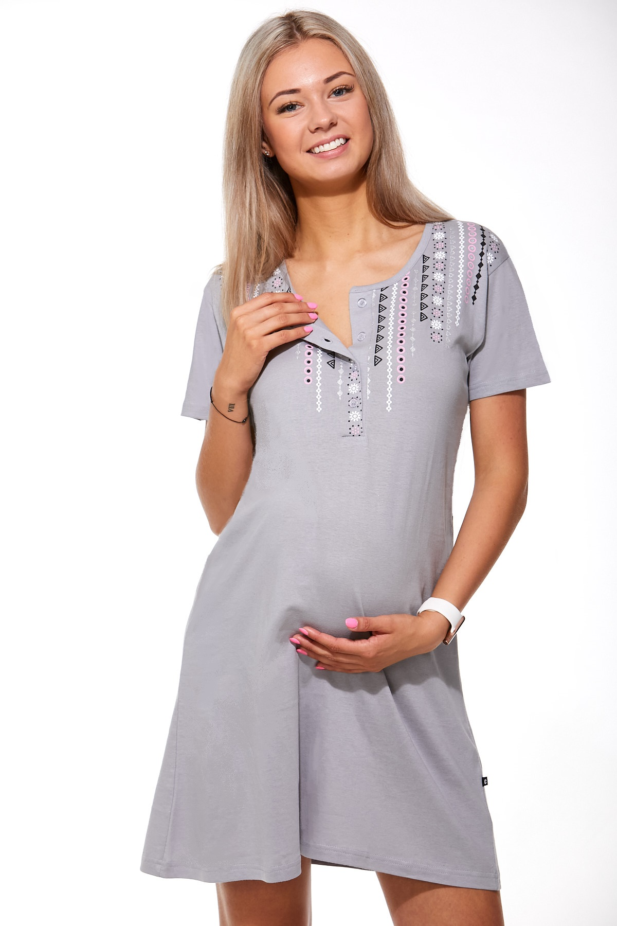 Košilka kojící do porodnice 1C2107