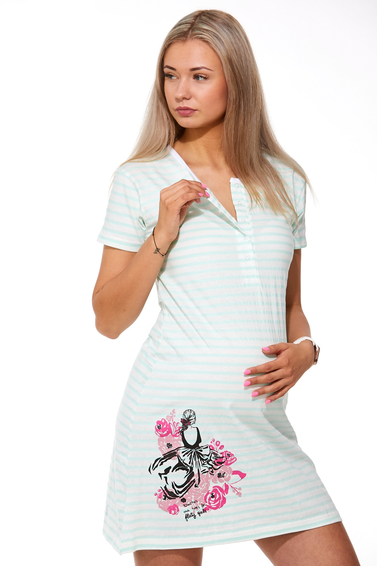 Košilka kojící do porodnice 1C2128