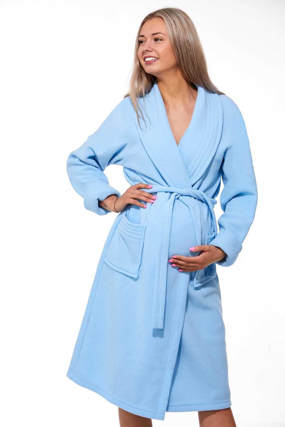 Těhotenský župan do porodnice 1W0434