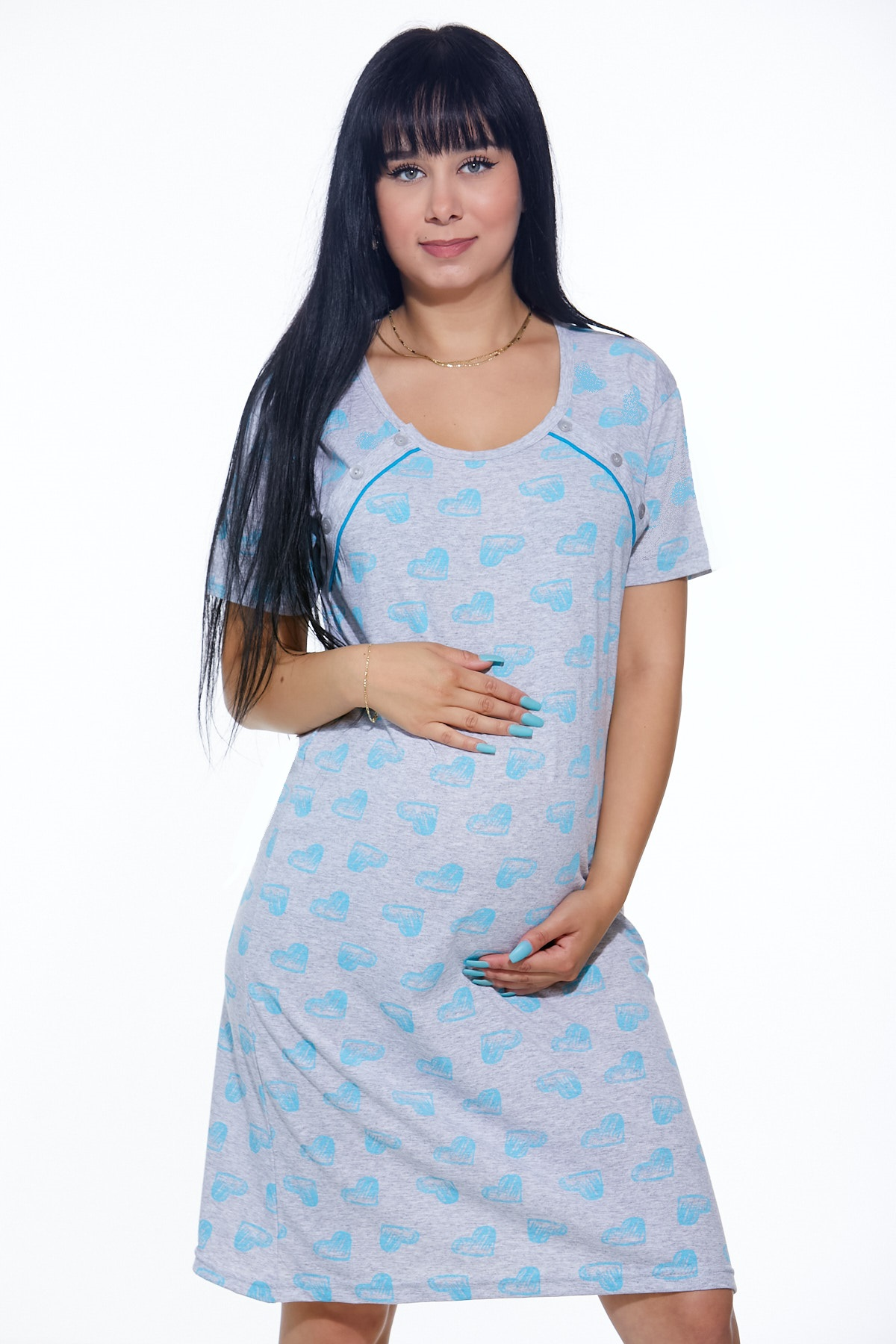 Košilka kojící do porodnice 1C2177