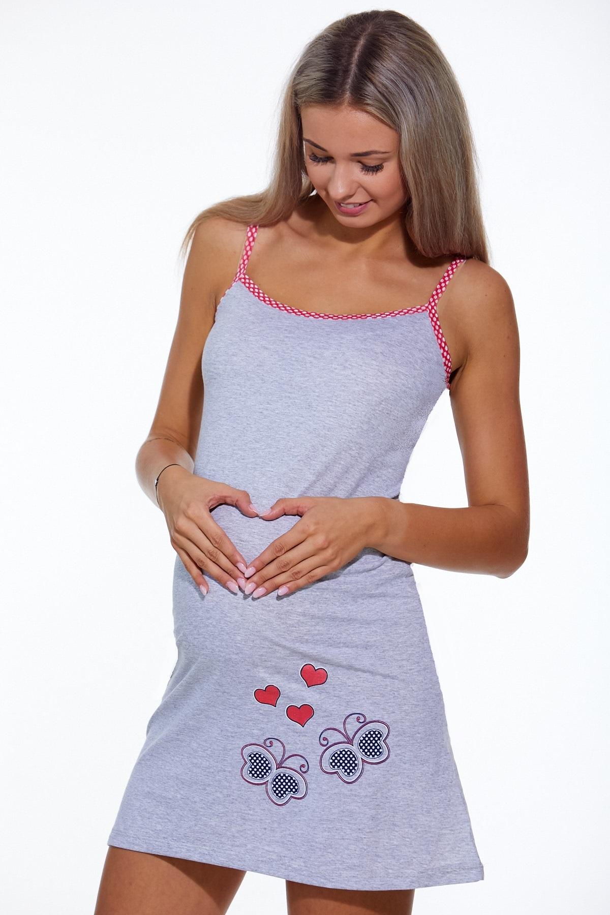 Kojící i těhotenská košilka  1C2217