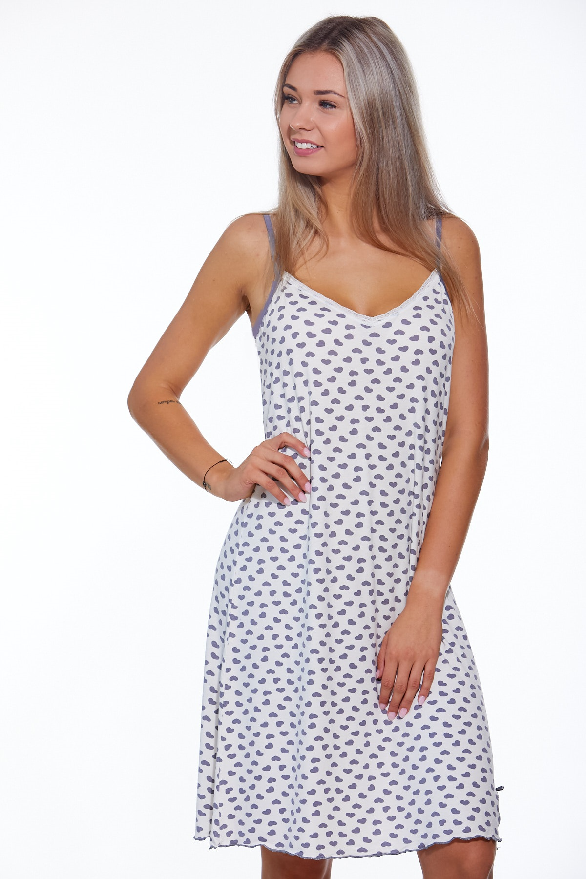 Těhotenská i kojící košilka jemná 1D0798