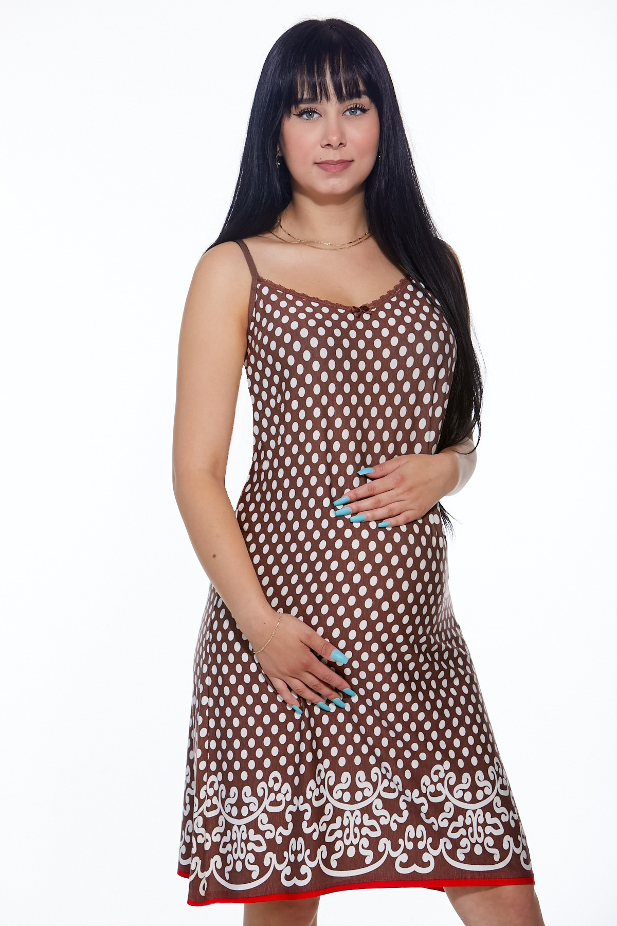 Těhotenská i kojící košilka jemná 1D0793
