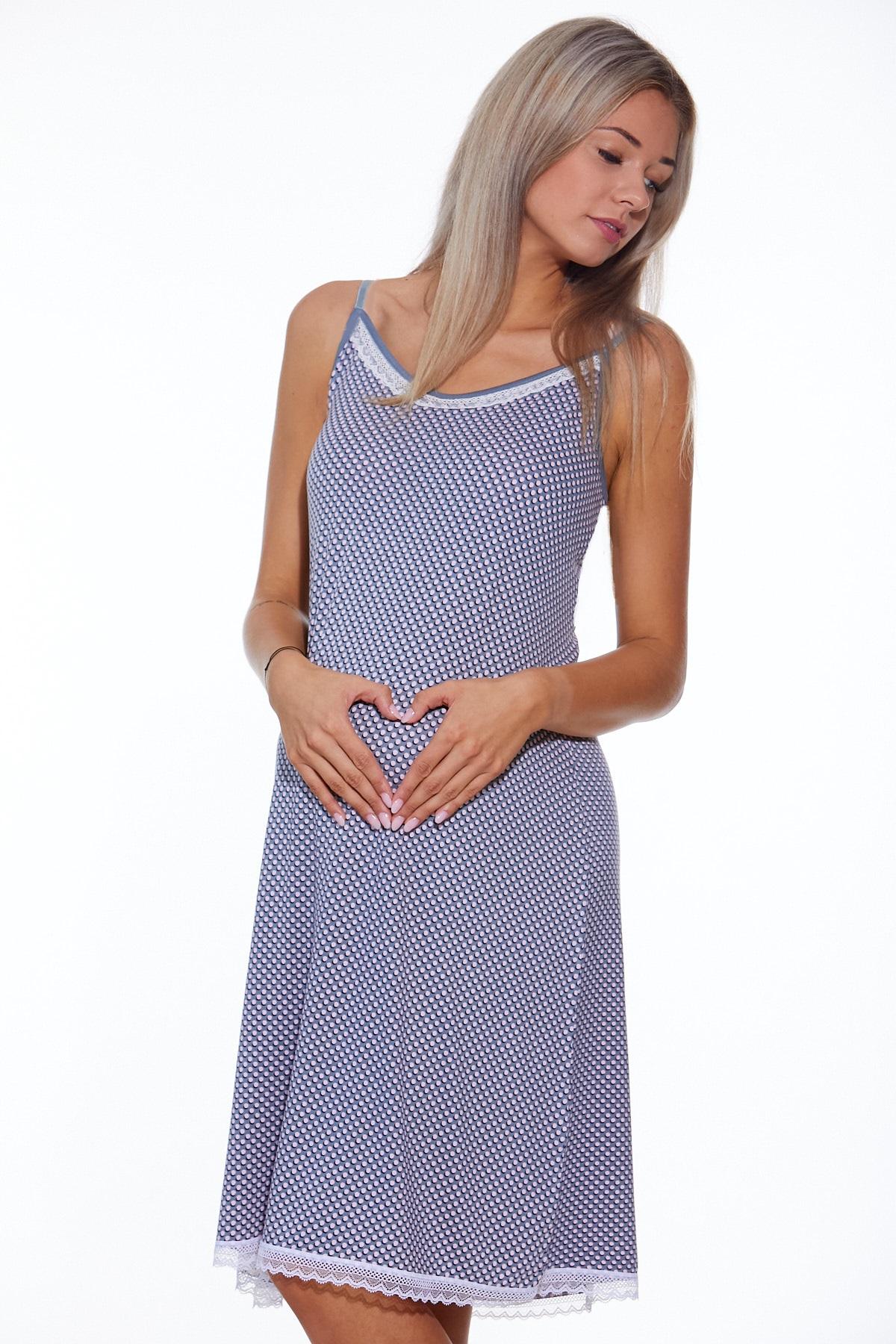 Těhotenská i kojící košilka jemná 1D0792