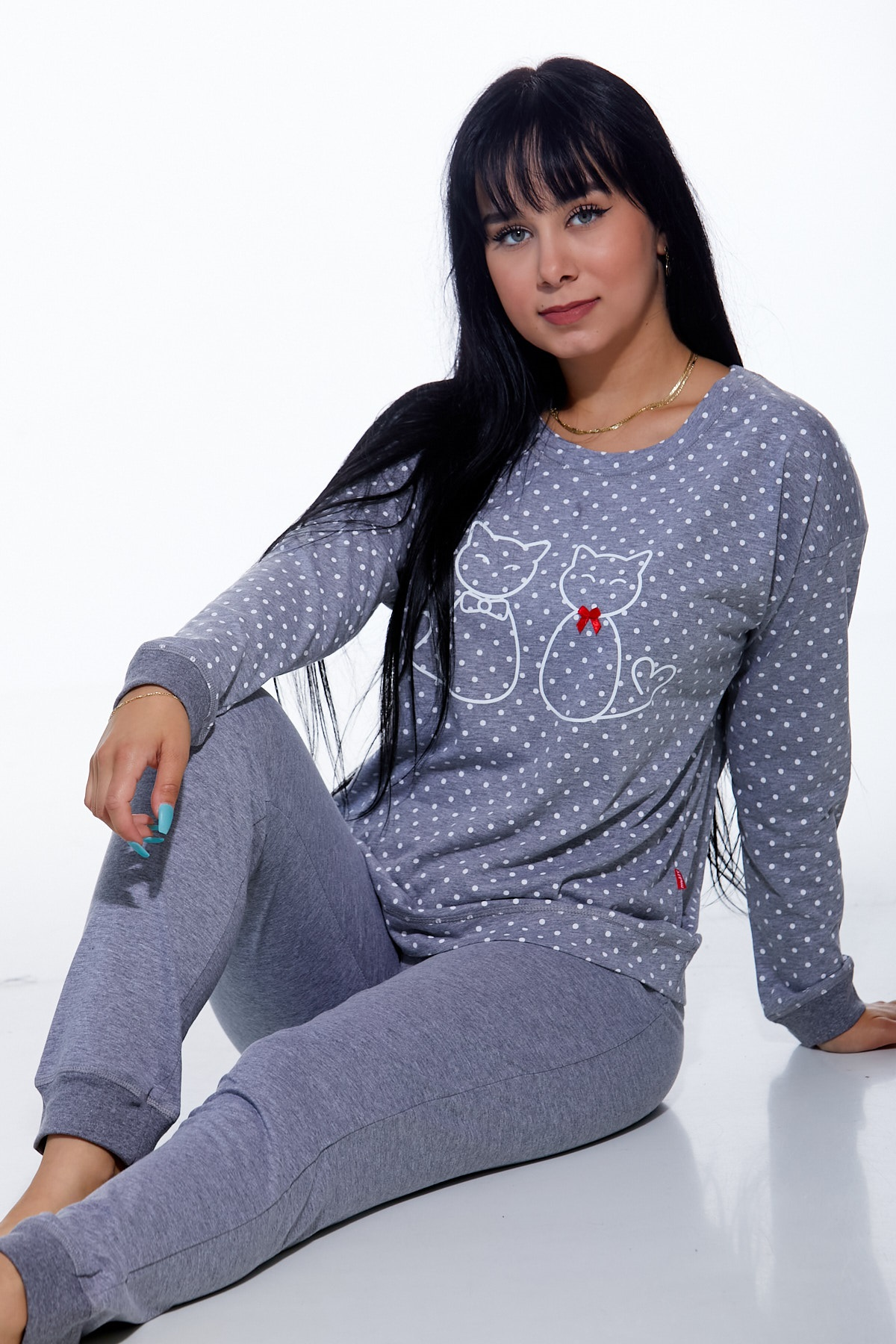 Dámské pyžamo comfort 1B0912
