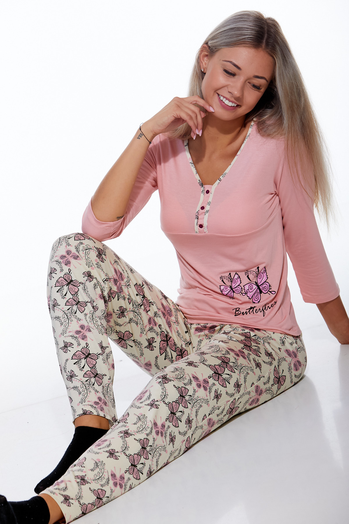 Pyžamo luxusní dámské