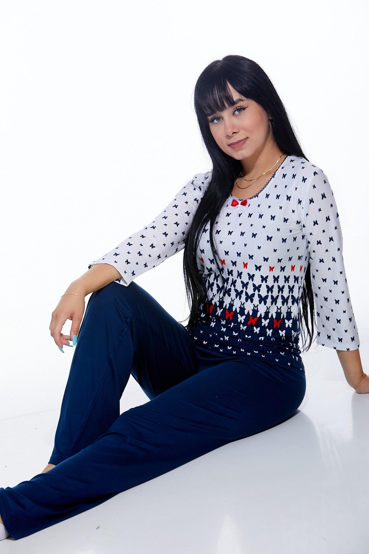 Pyžamo luxusní dámské 1D0826