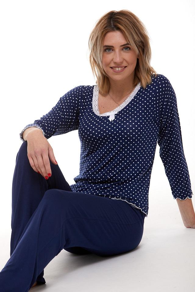 Pyžamo luxusní dámské 1D0825
