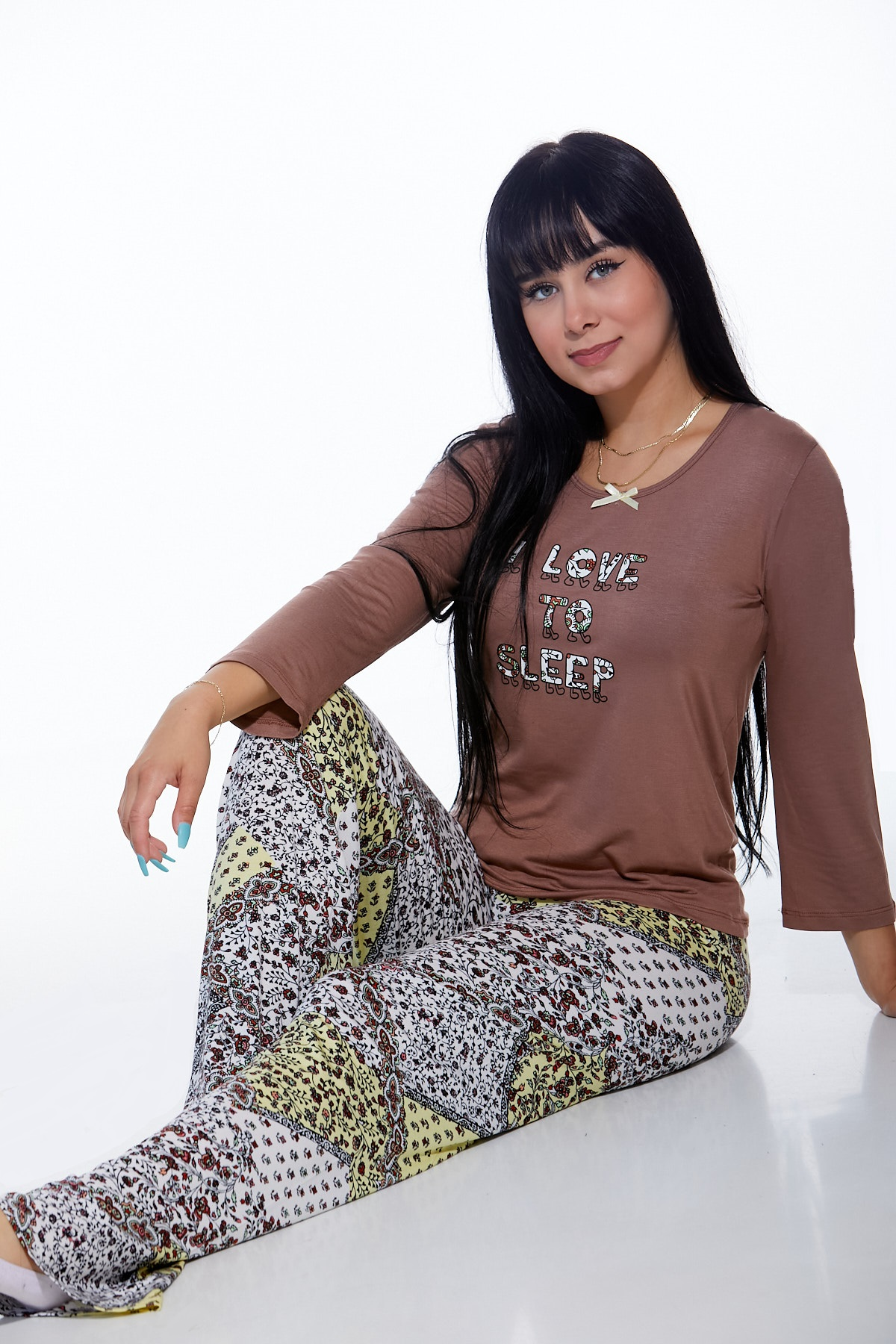 Pyžamo luxusní dámské 1D0821